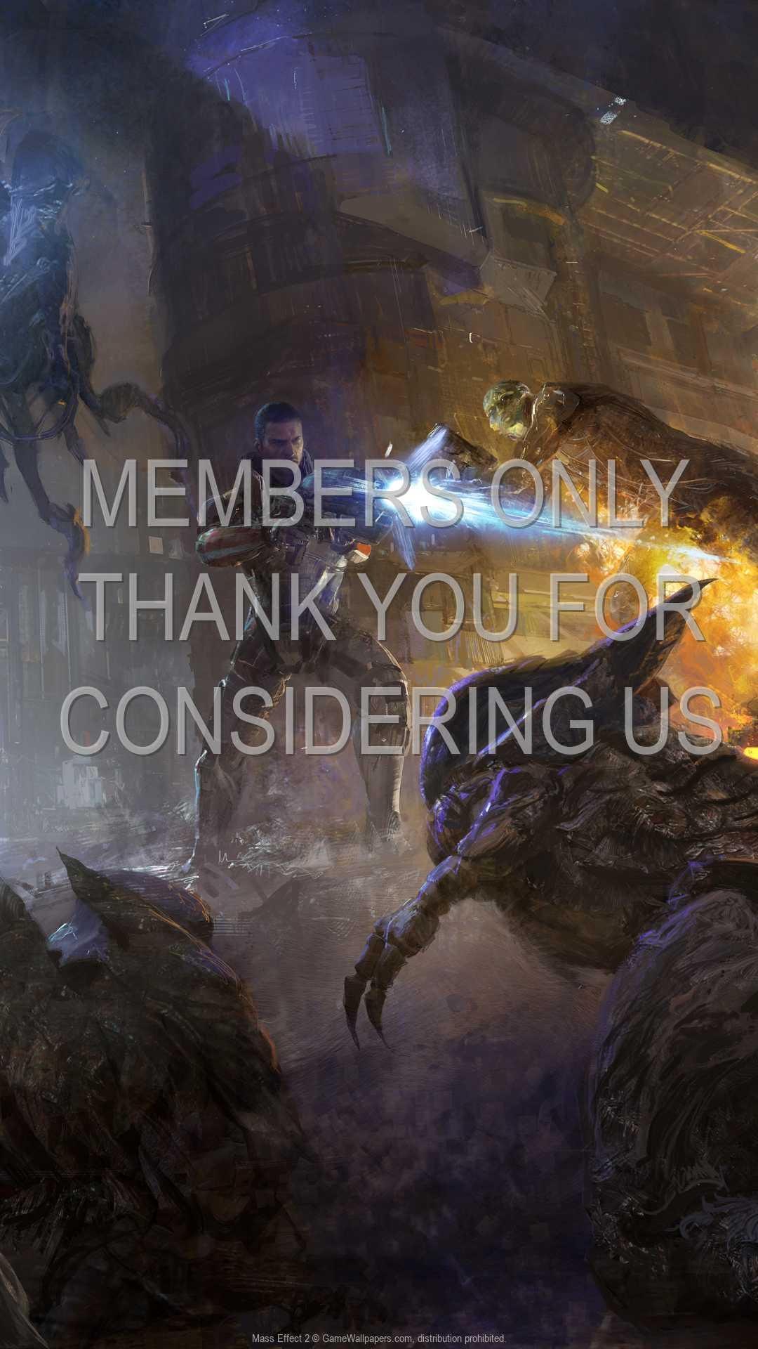 Mass Effect 2 1080p Vertical Handy Hintergrundbild 09