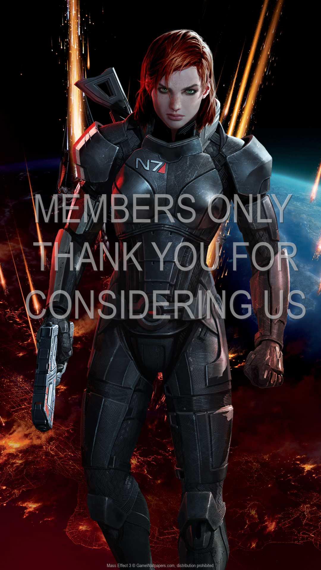 Mass Effect 3 1080p Vertical Handy Hintergrundbild 11
