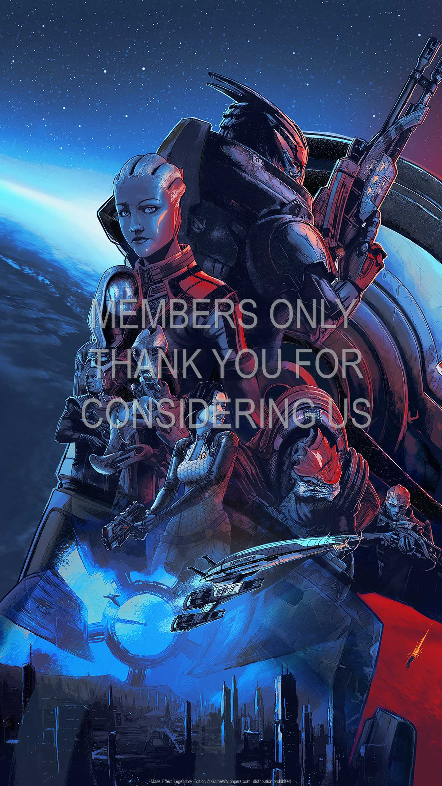 Mass Effect Legendary Edition 1440p Vertical Mobile wallpaper or background 01