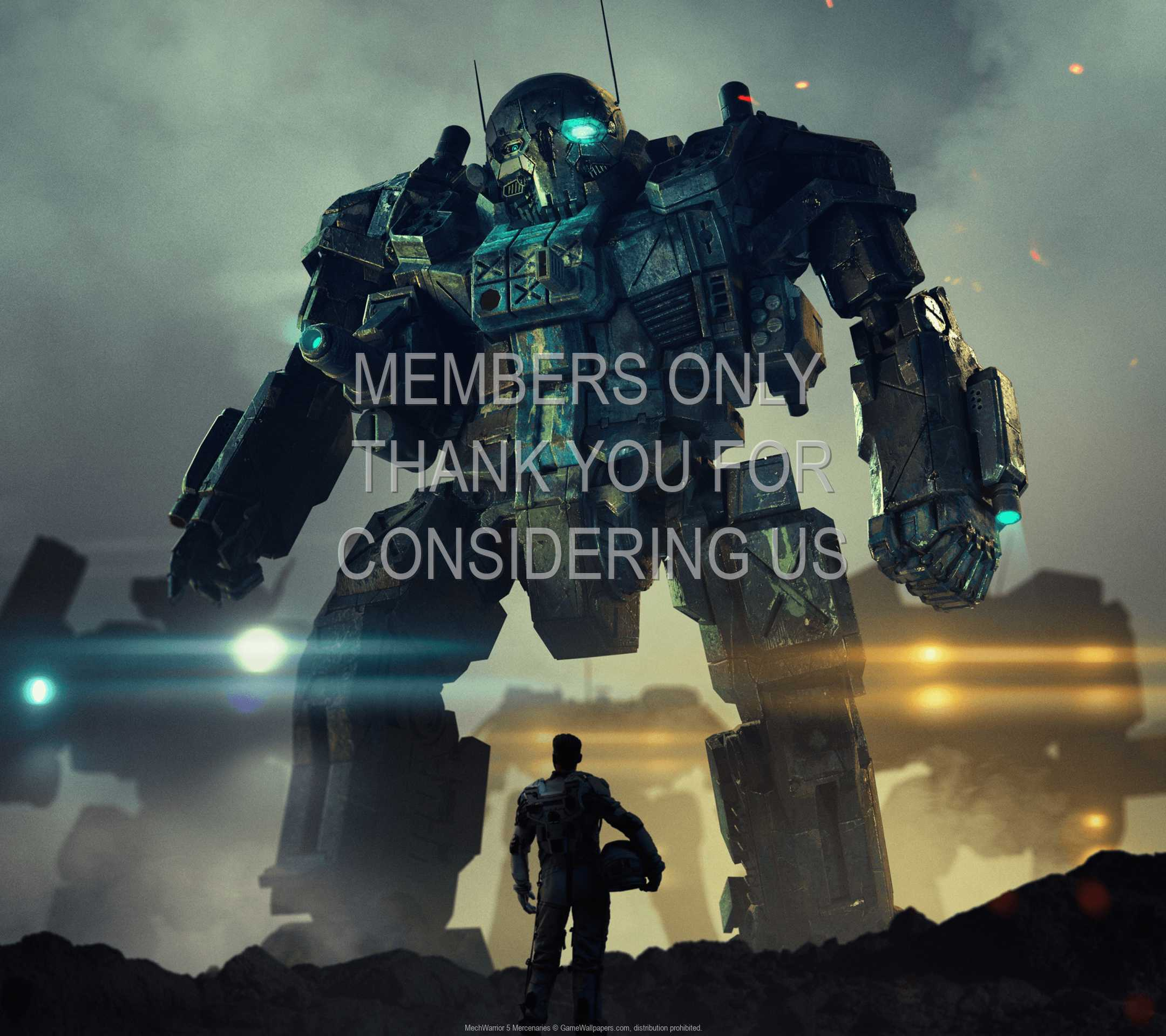 MechWarrior 5: Mercenaries 1080p Horizontal Mobile wallpaper or background 01