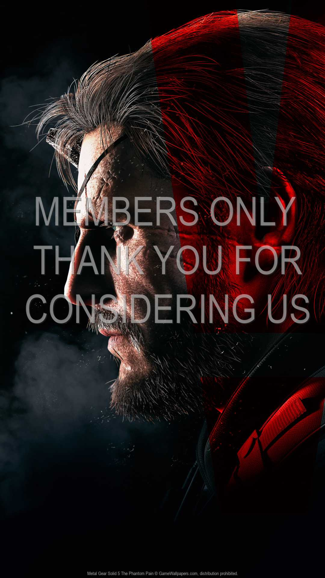 Metal Gear Solid 5: The Phantom Pain 1080p Vertical Mobile wallpaper or background 01
