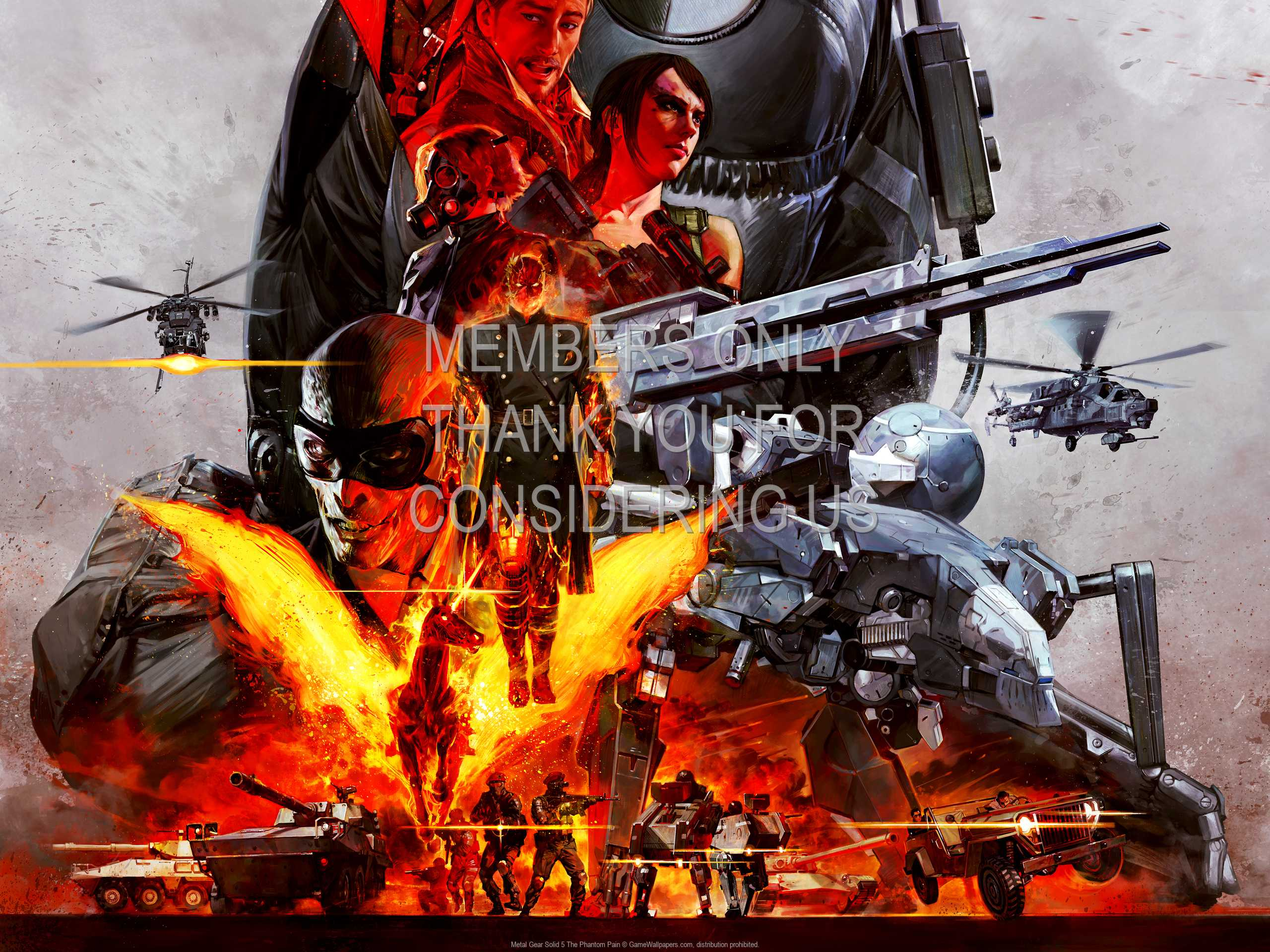 Metal Gear Solid 5: The Phantom Pain 1080p Horizontal Mobile wallpaper or background 02