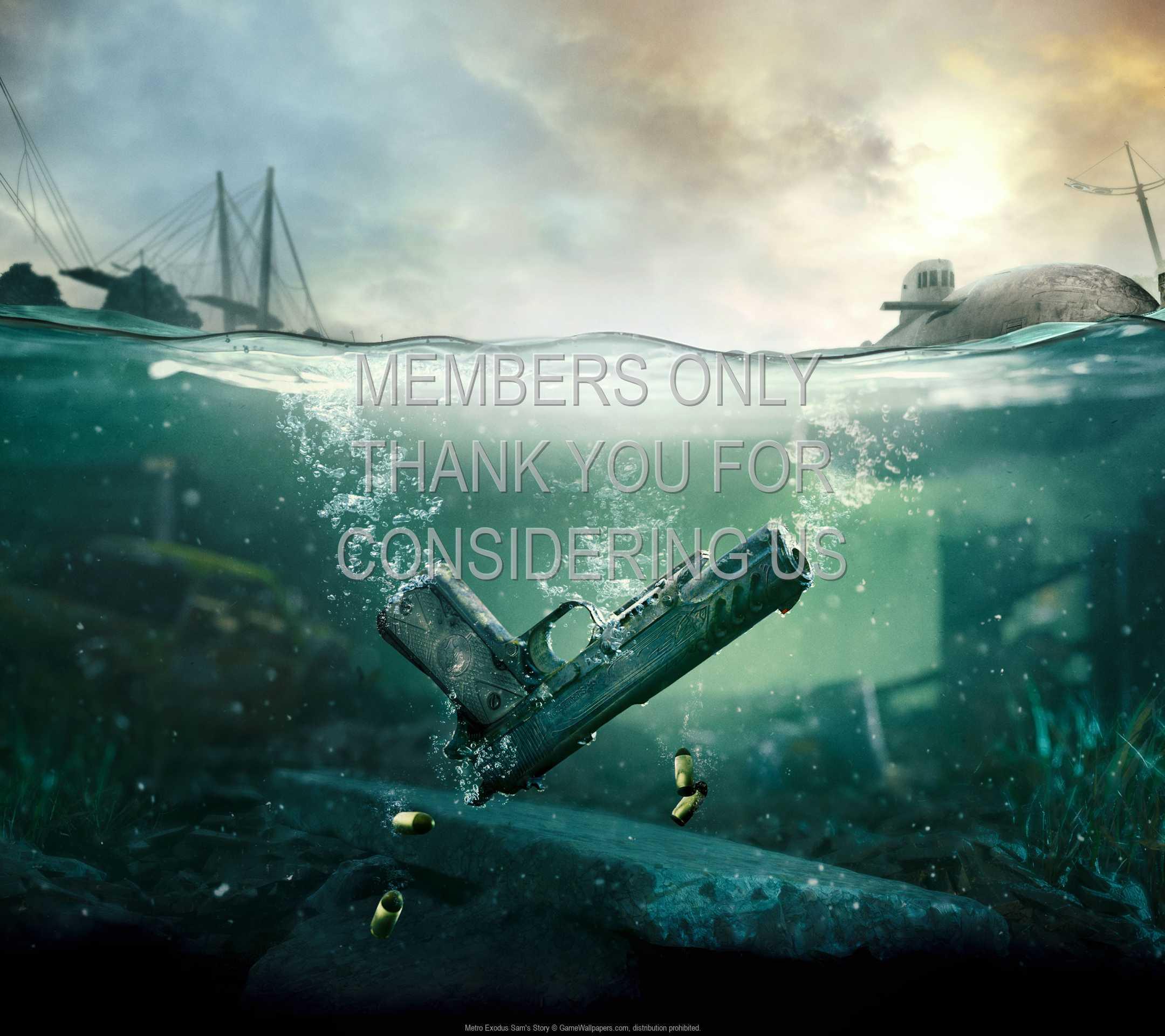 Metro Exodus: Sam's Story 1080p Horizontal Handy Hintergrundbild 01