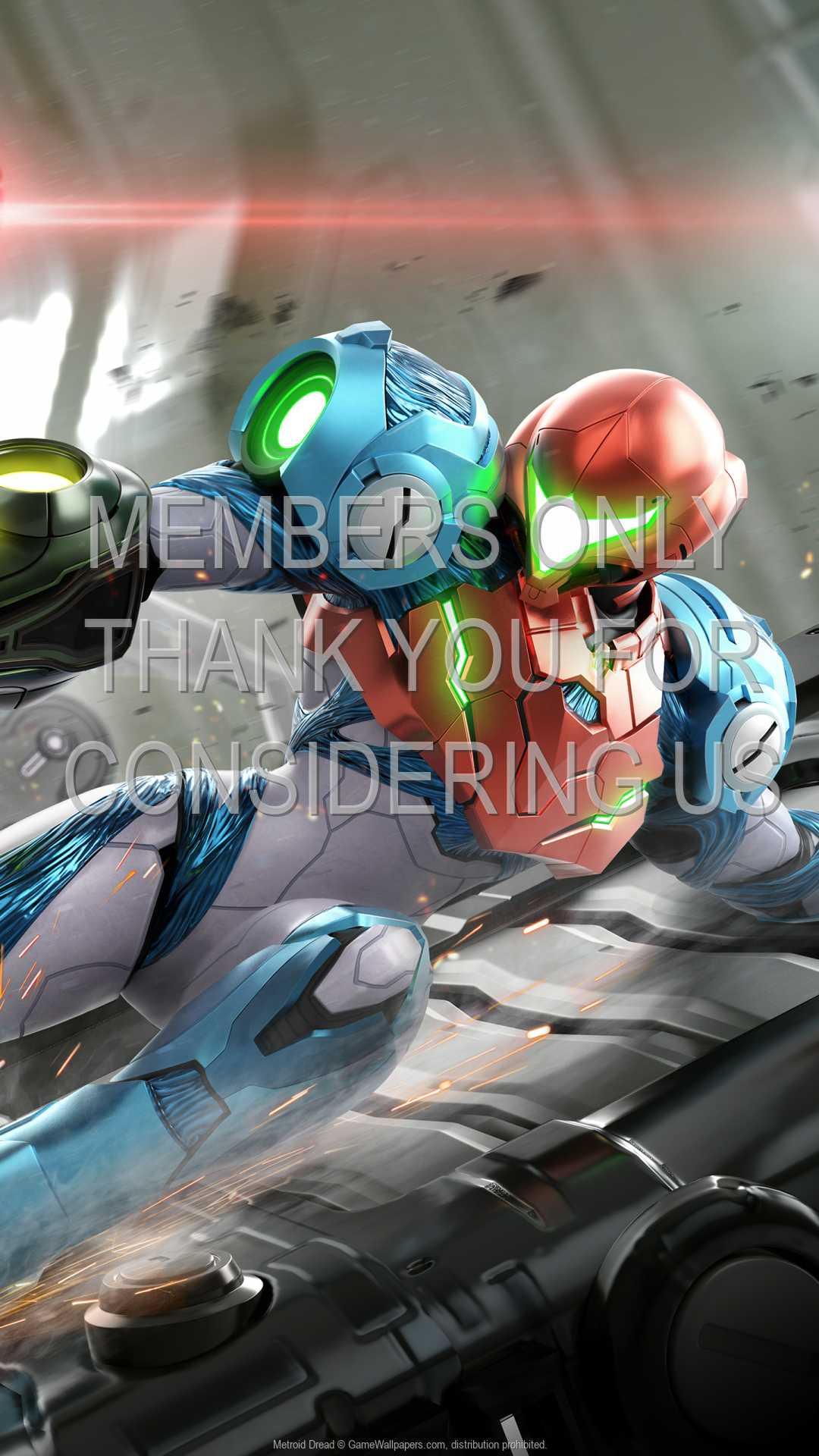 Metroid Dread 1080p Vertical Mobile fond d'écran 01