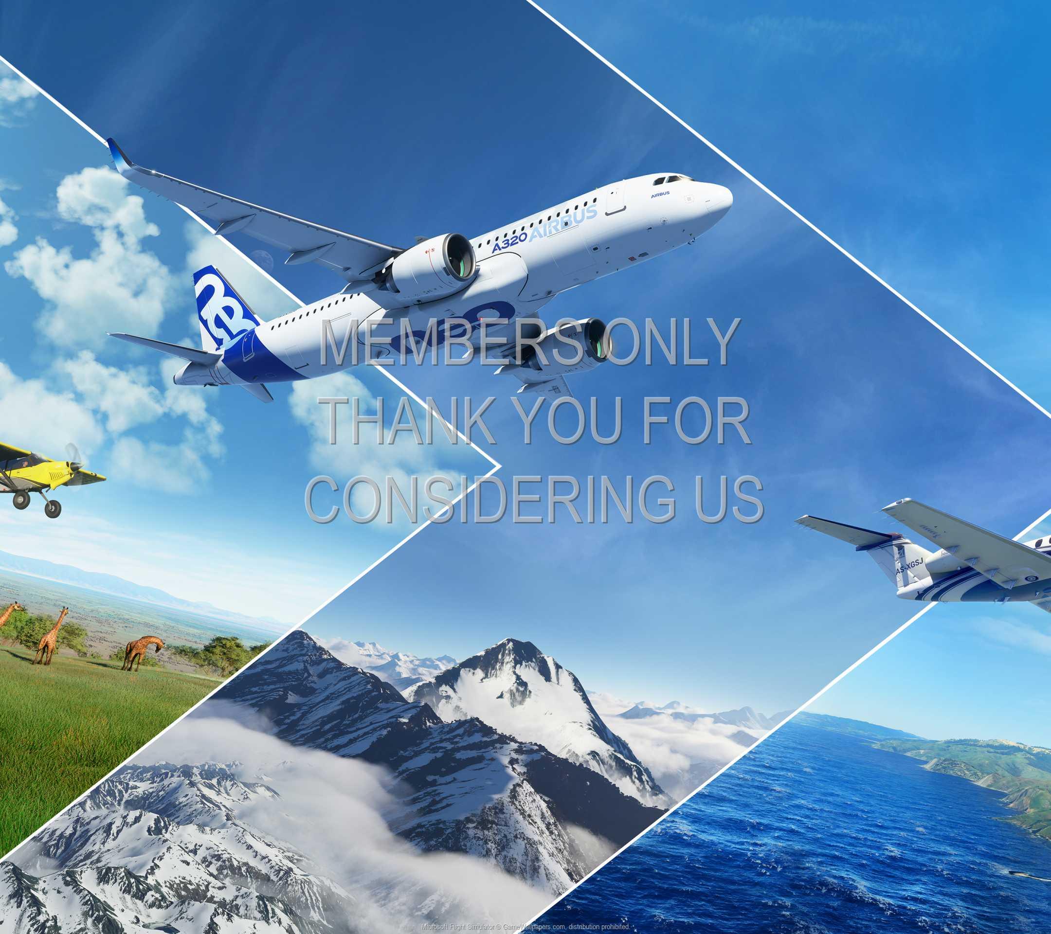 Microsoft Flight Simulator 1080p Horizontal Mobile wallpaper or background 01