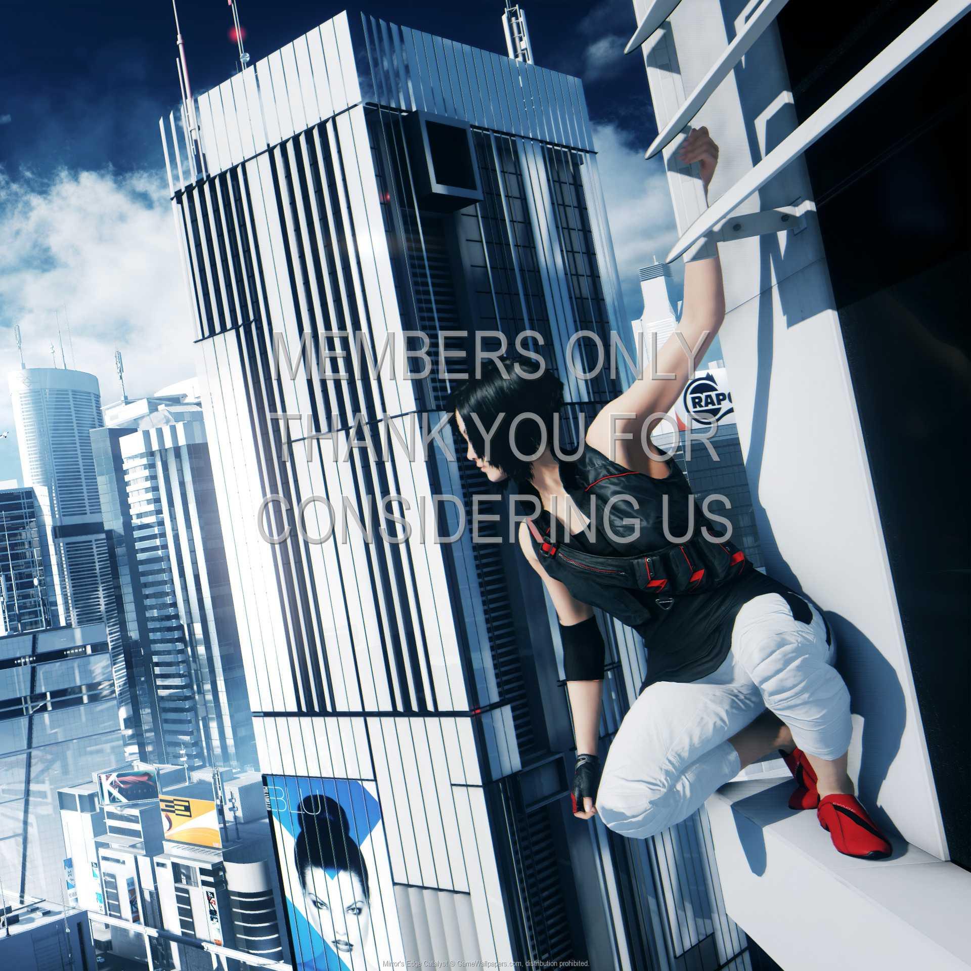 Mirror's Edge: Catalyst 1080p Horizontal Mobile wallpaper or background 01