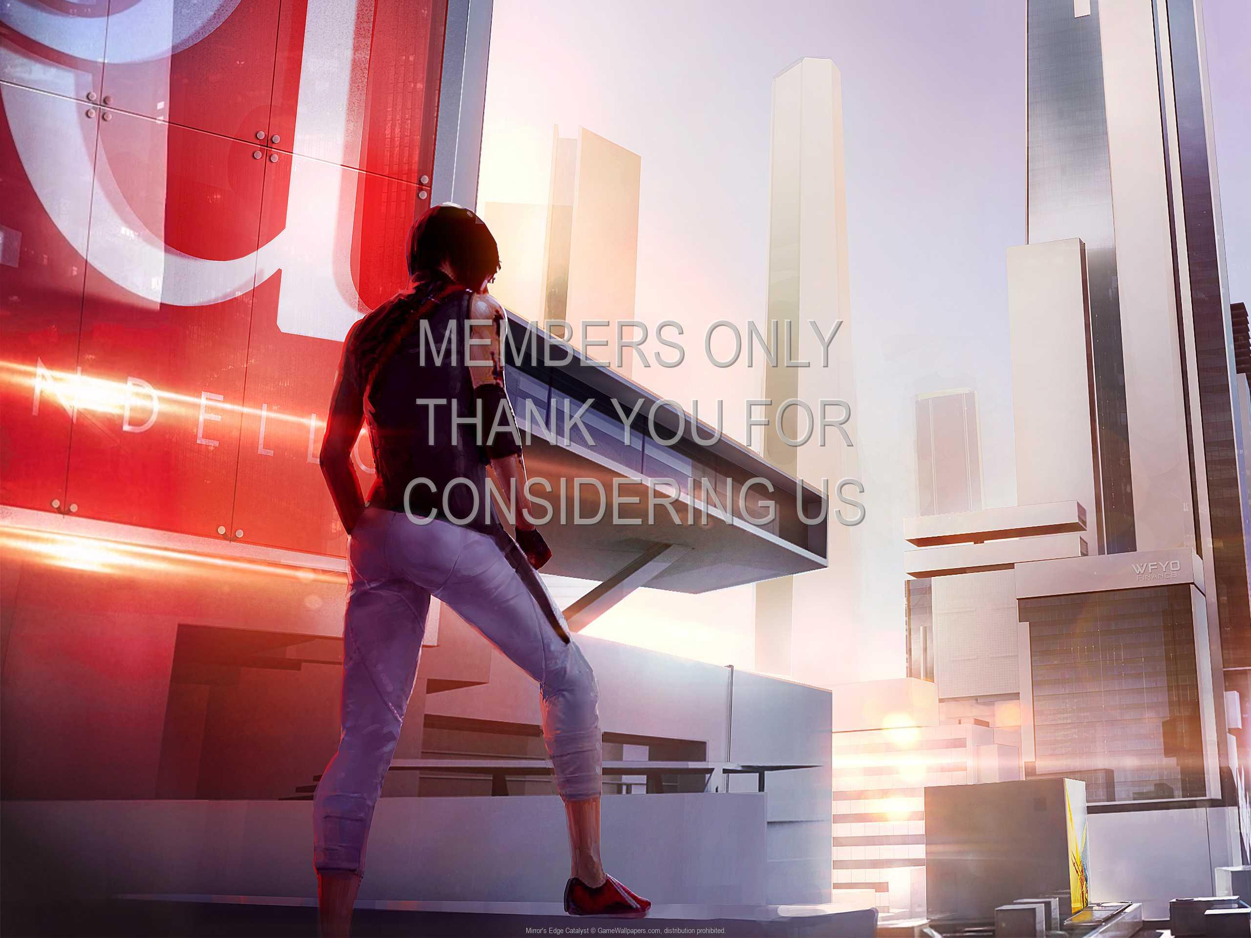 Mirror's Edge: Catalyst 1080p Horizontal Mobile wallpaper or background 07