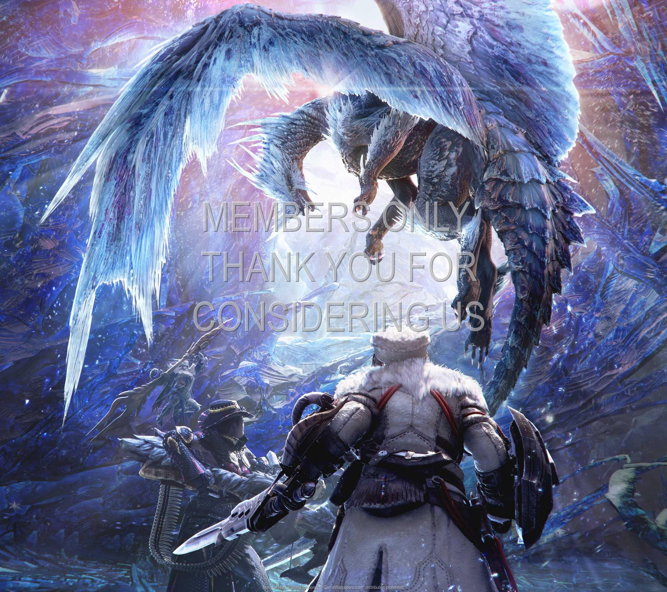 Monster Hunter World: Iceborne 1080p Horizontal Mobile wallpaper or background 01