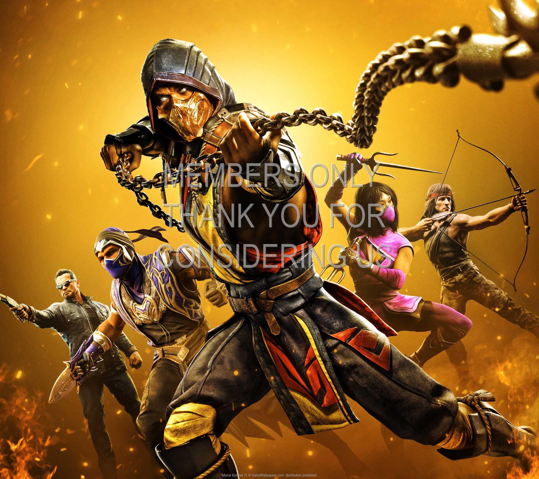 Mortal Kombat 11 1080p Horizontal Mobiele achtergrond 05