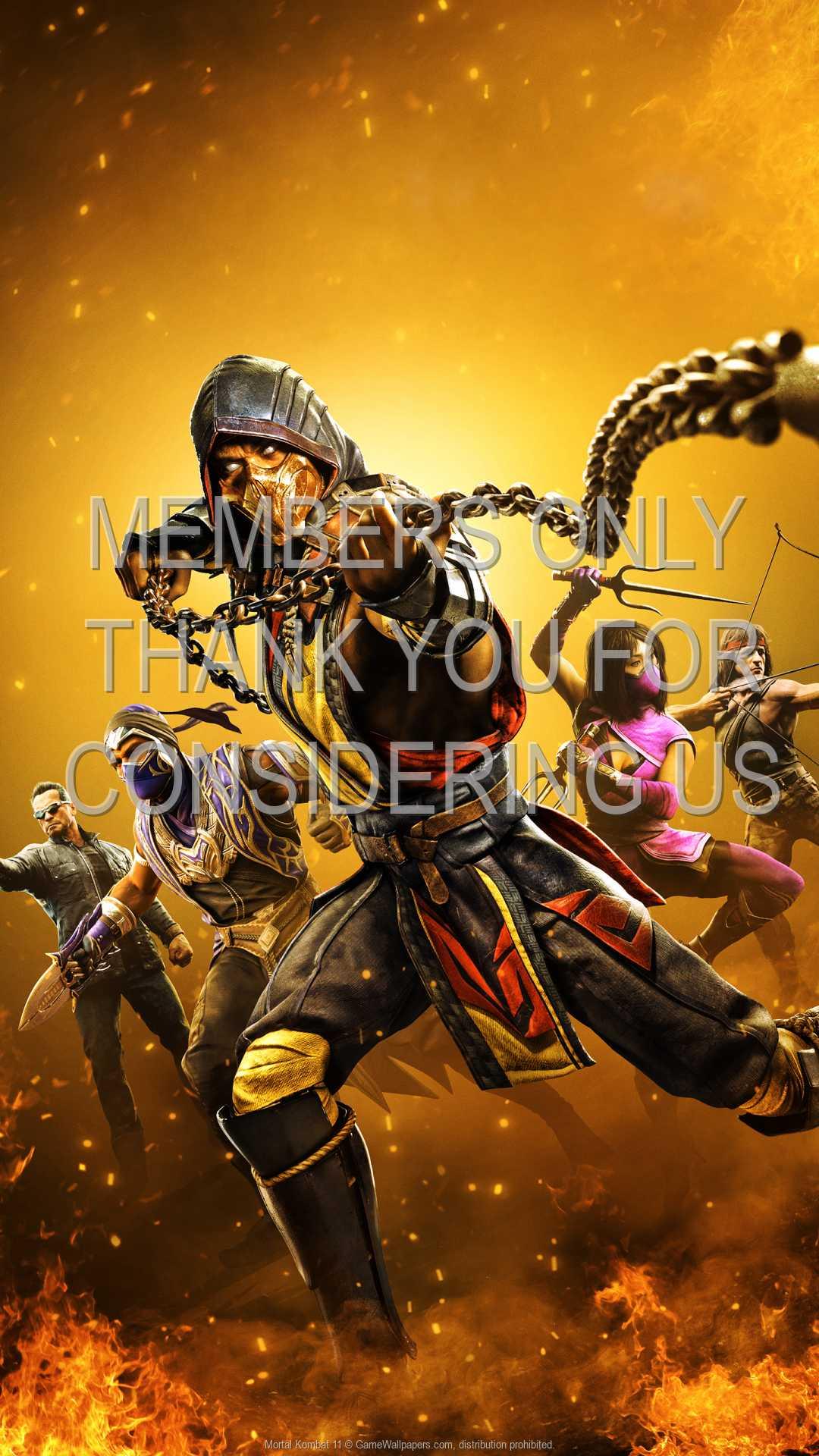 Mortal Kombat 11 1080p Vertical Mobiele achtergrond 05