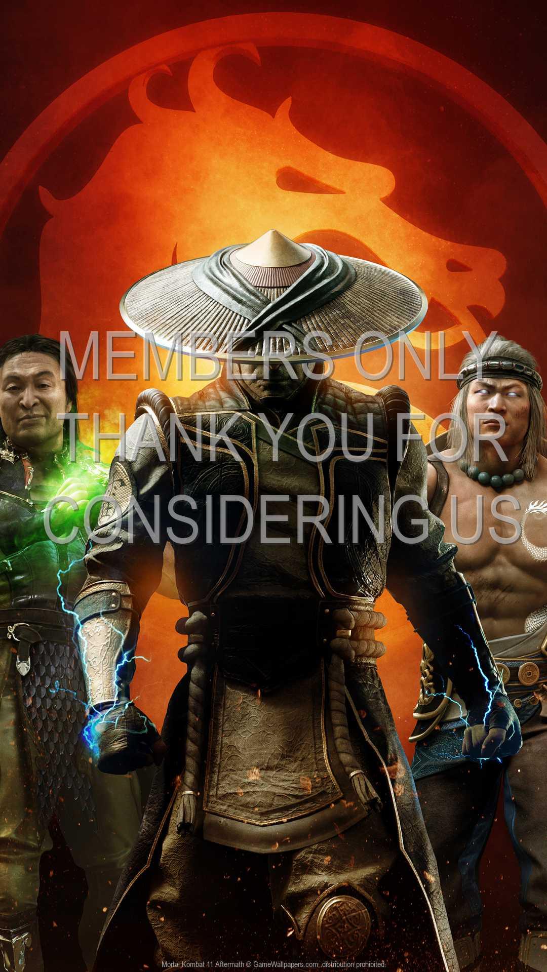 Mortal Kombat 11 Aftermath 1080p Vertical Mobile wallpaper or background 01