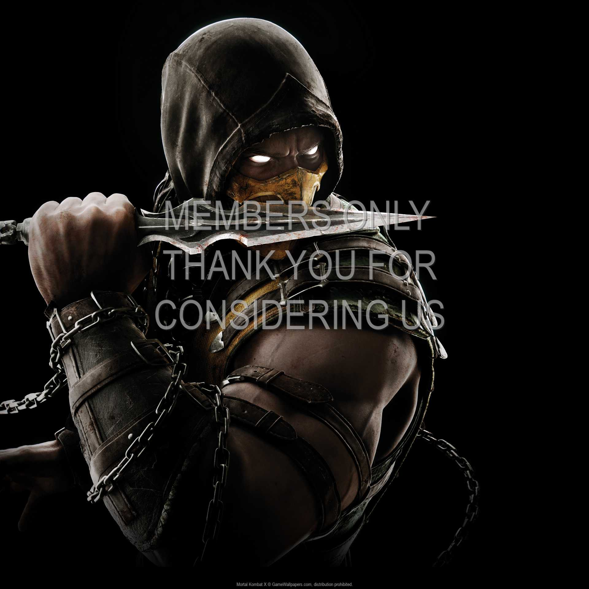Mortal Kombat X 1080p Horizontal Handy Hintergrundbild 05