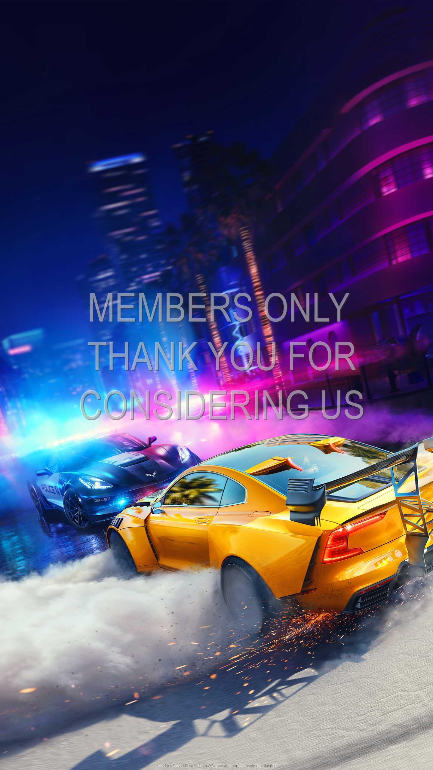 Need for Speed: Heat 1440p Vertical Handy Hintergrundbild 01