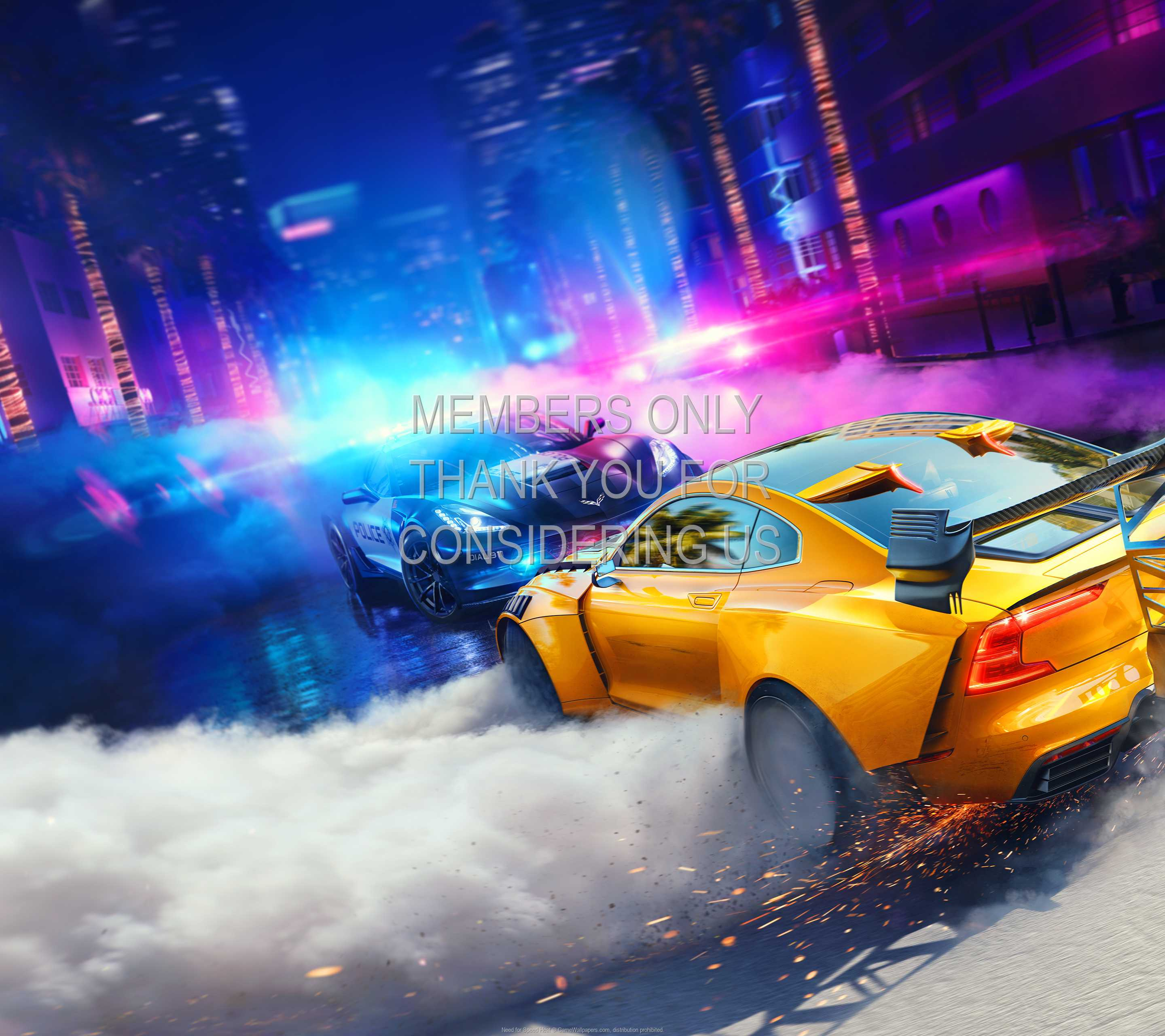 Need for Speed: Heat 1440p Horizontal Handy Hintergrundbild 01