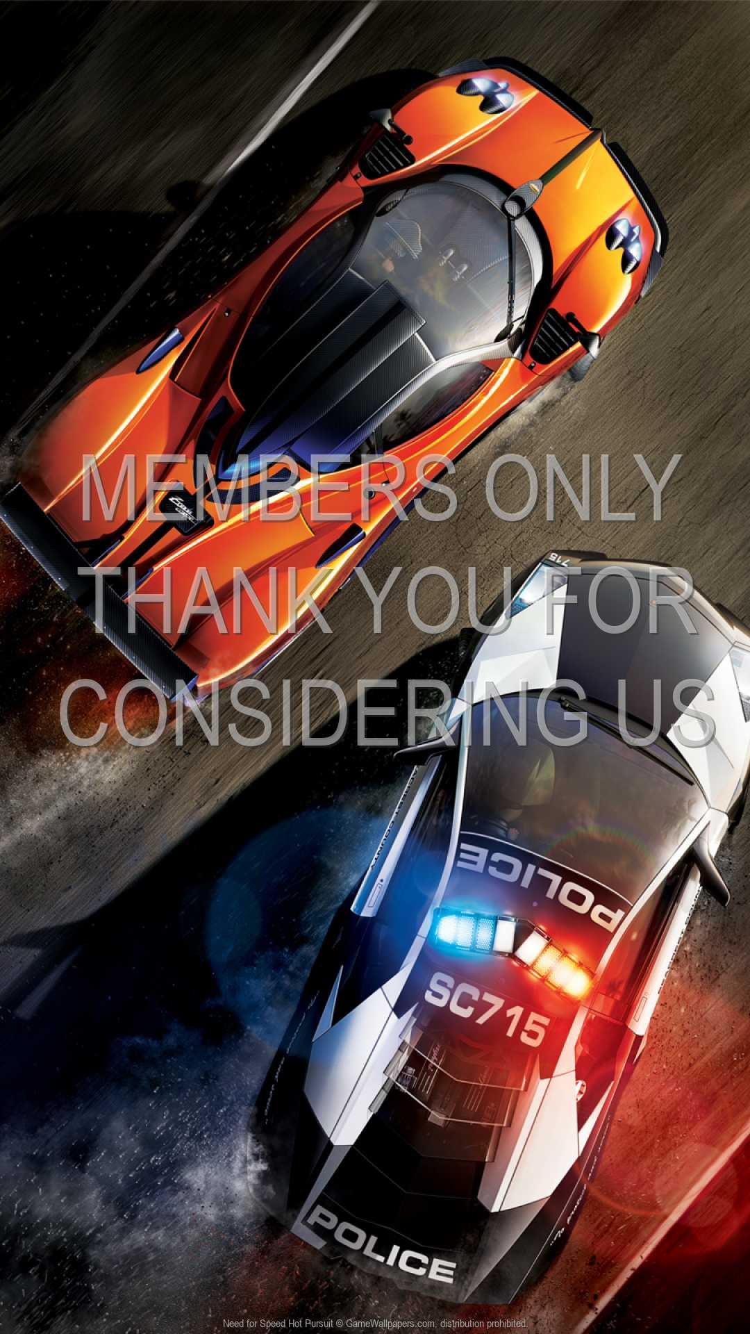 Need for Speed: Hot Pursuit 1080p Vertical Handy Hintergrundbild 01