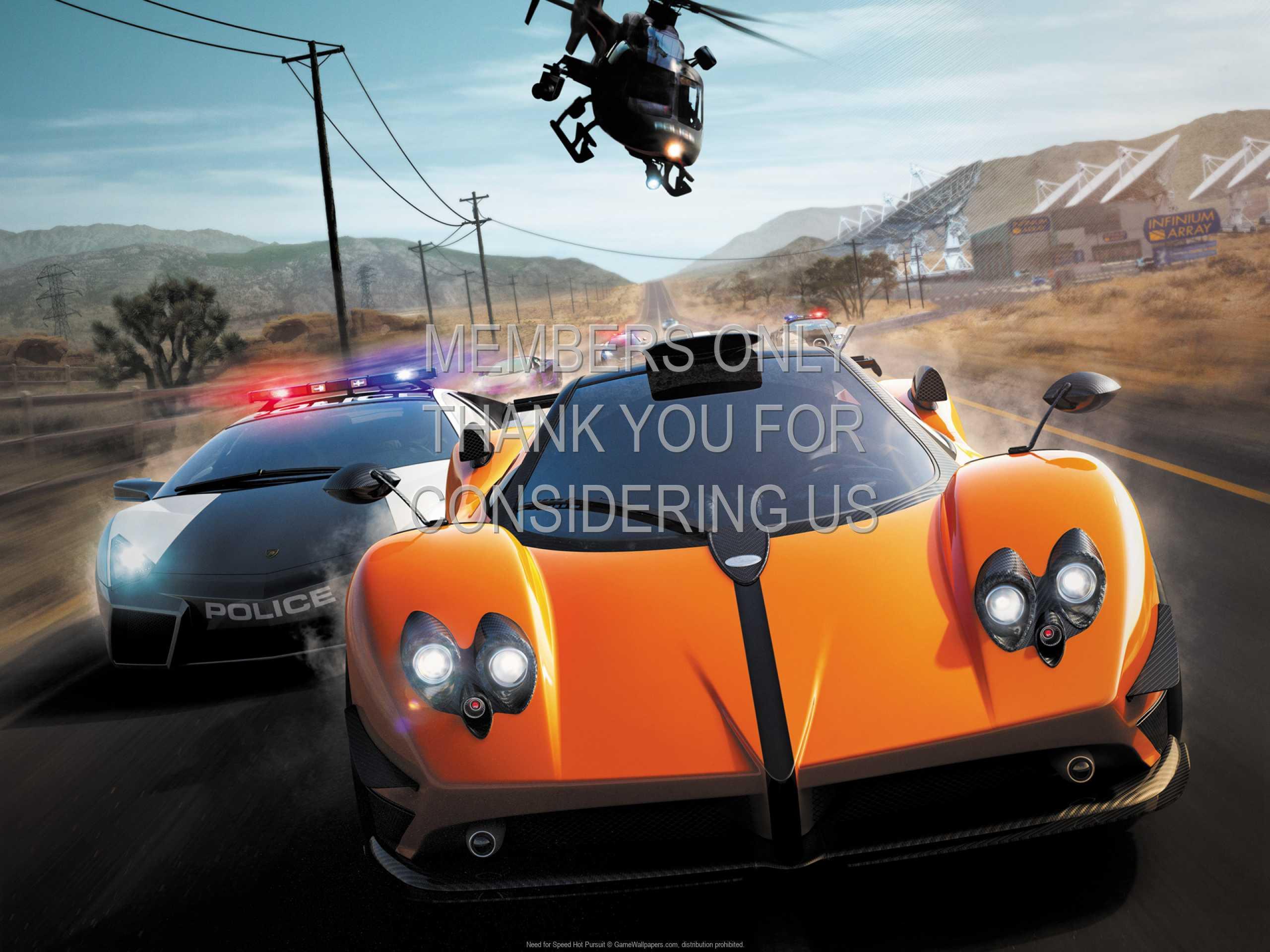 Need for Speed: Hot Pursuit 1080p Horizontal Handy Hintergrundbild 04