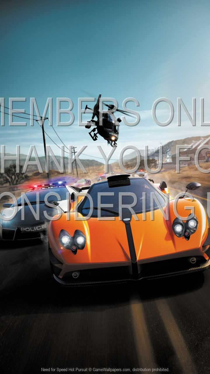 Need for Speed: Hot Pursuit 720p Vertical Handy Hintergrundbild 04