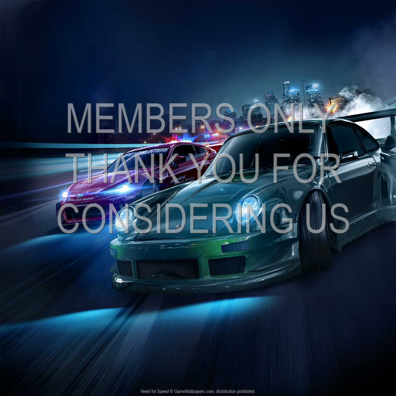 Need for Speed 720p Horizontal Mobiele achtergrond 01