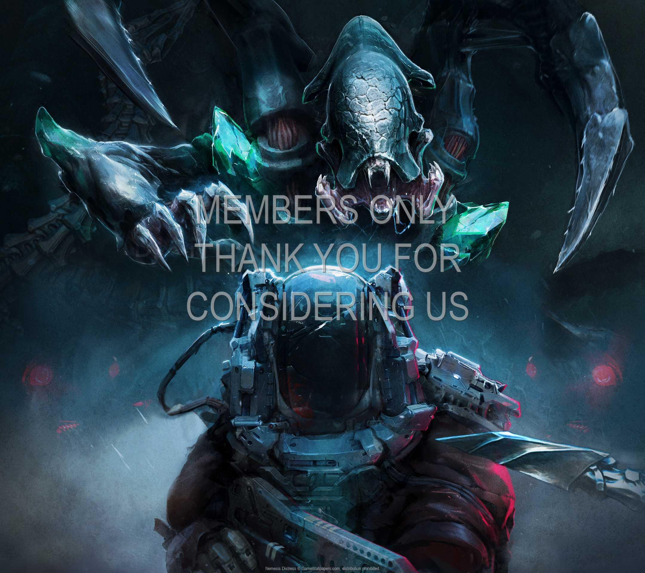 Nemesis: Distress 1080p Horizontal Handy Hintergrundbild 01