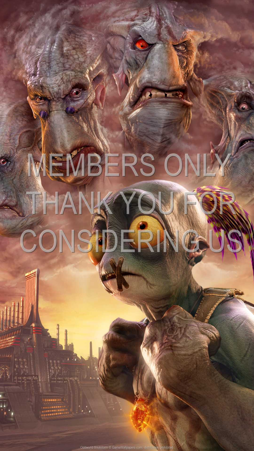 Oddworld: Soulstorm 1080p Vertical Móvil fondo de escritorio 01