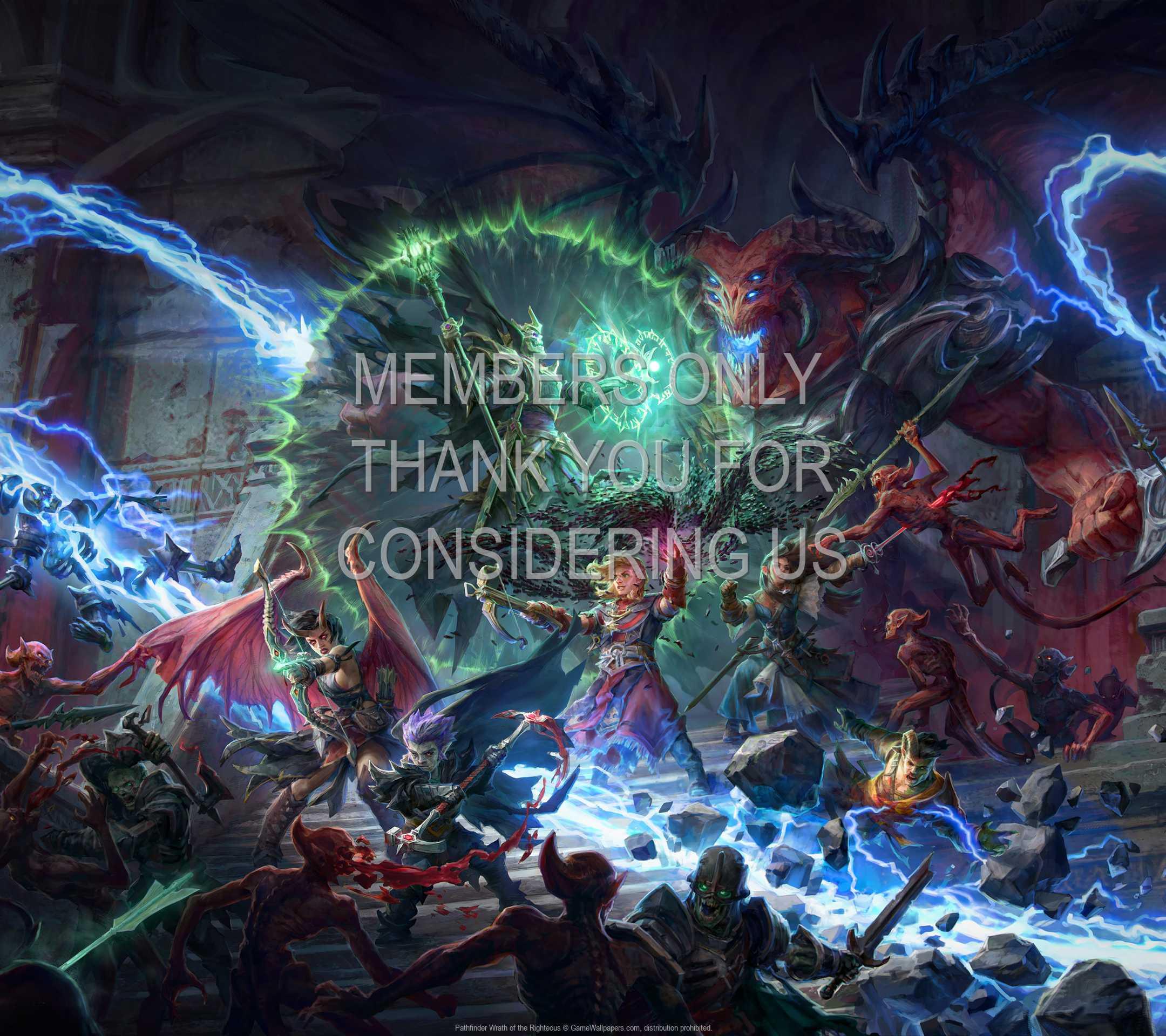 Pathfinder: Wrath of the Righteous 1080p Horizontal Handy Hintergrundbild 02