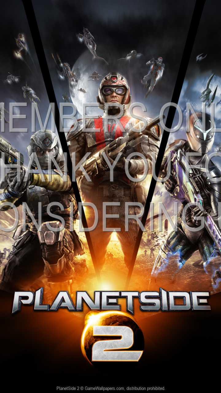 PlanetSide 2 720p Vertical Móvil fondo de escritorio 03