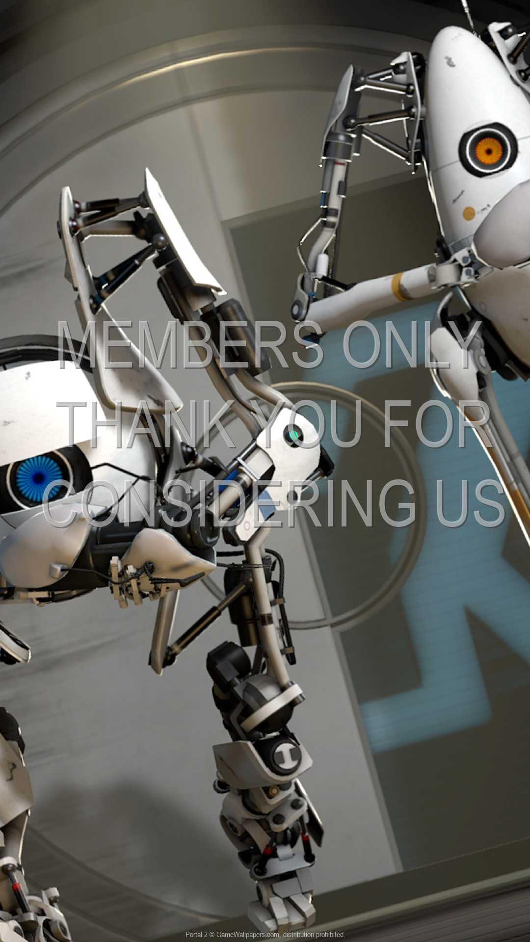 Portal 2 1080p Vertical Mobiele achtergrond 02