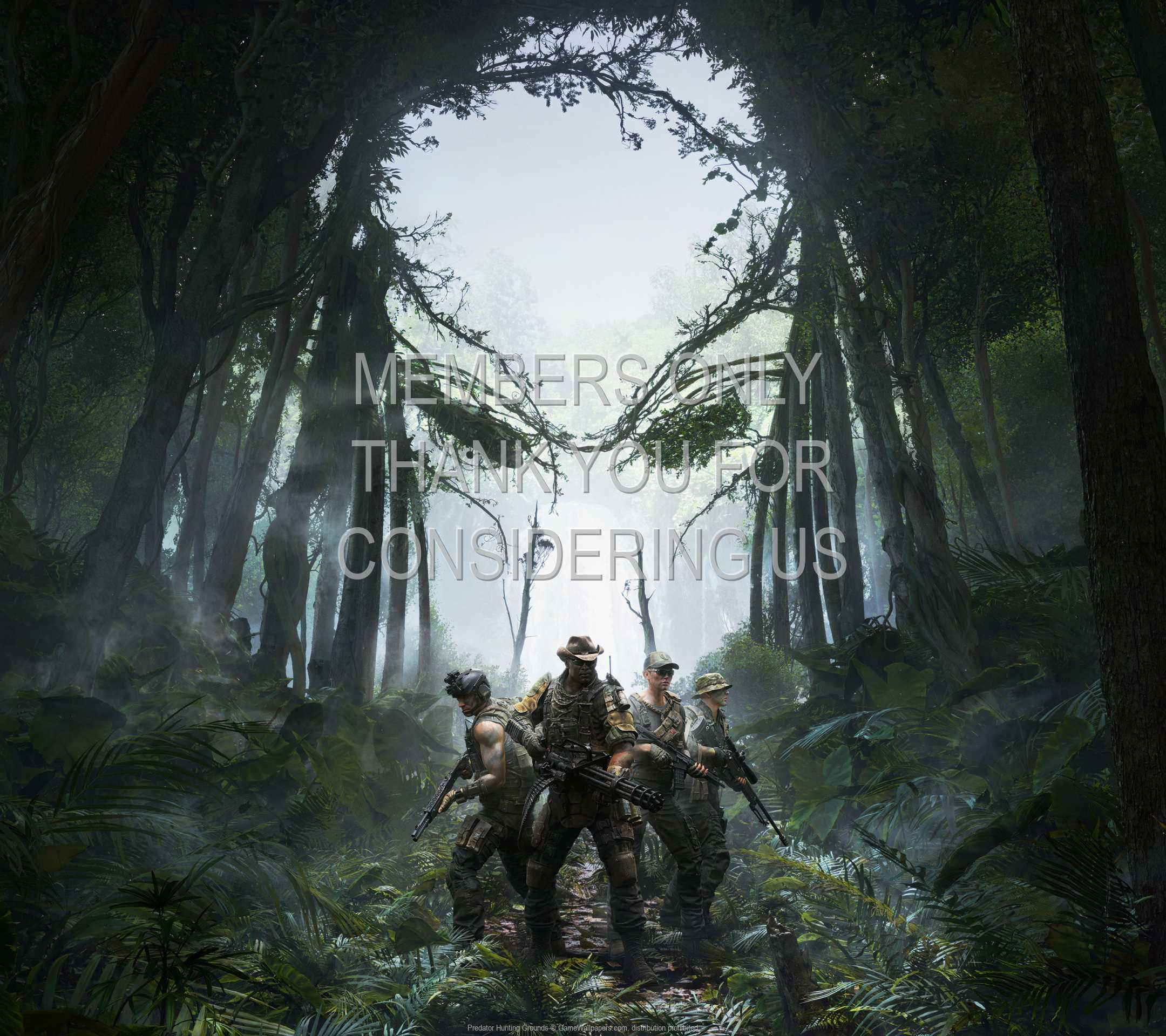 Predator: Hunting Grounds 1080p Horizontal Mobile wallpaper or background 01
