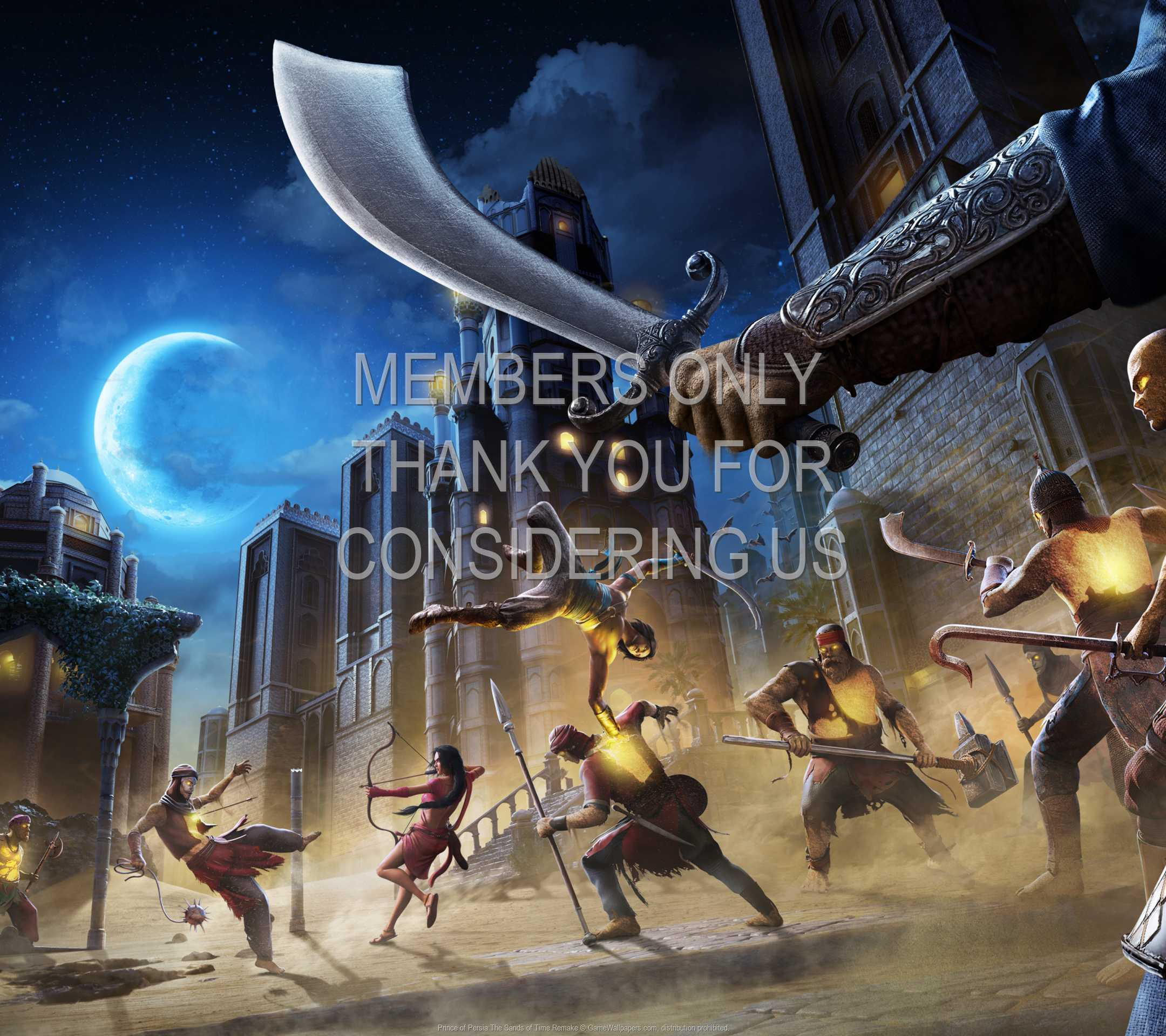 Prince of Persia: The Sands of Time Remake 1080p Horizontal Mobile fond d'écran 02