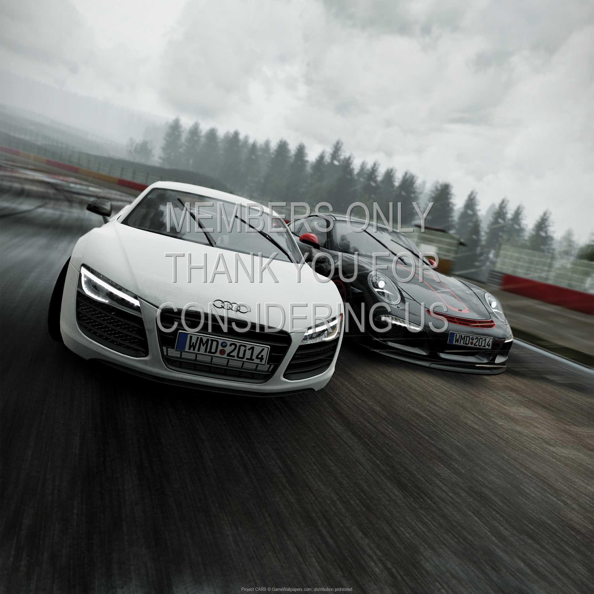 Project CARS 1080p Horizontal Handy Hintergrundbild 01