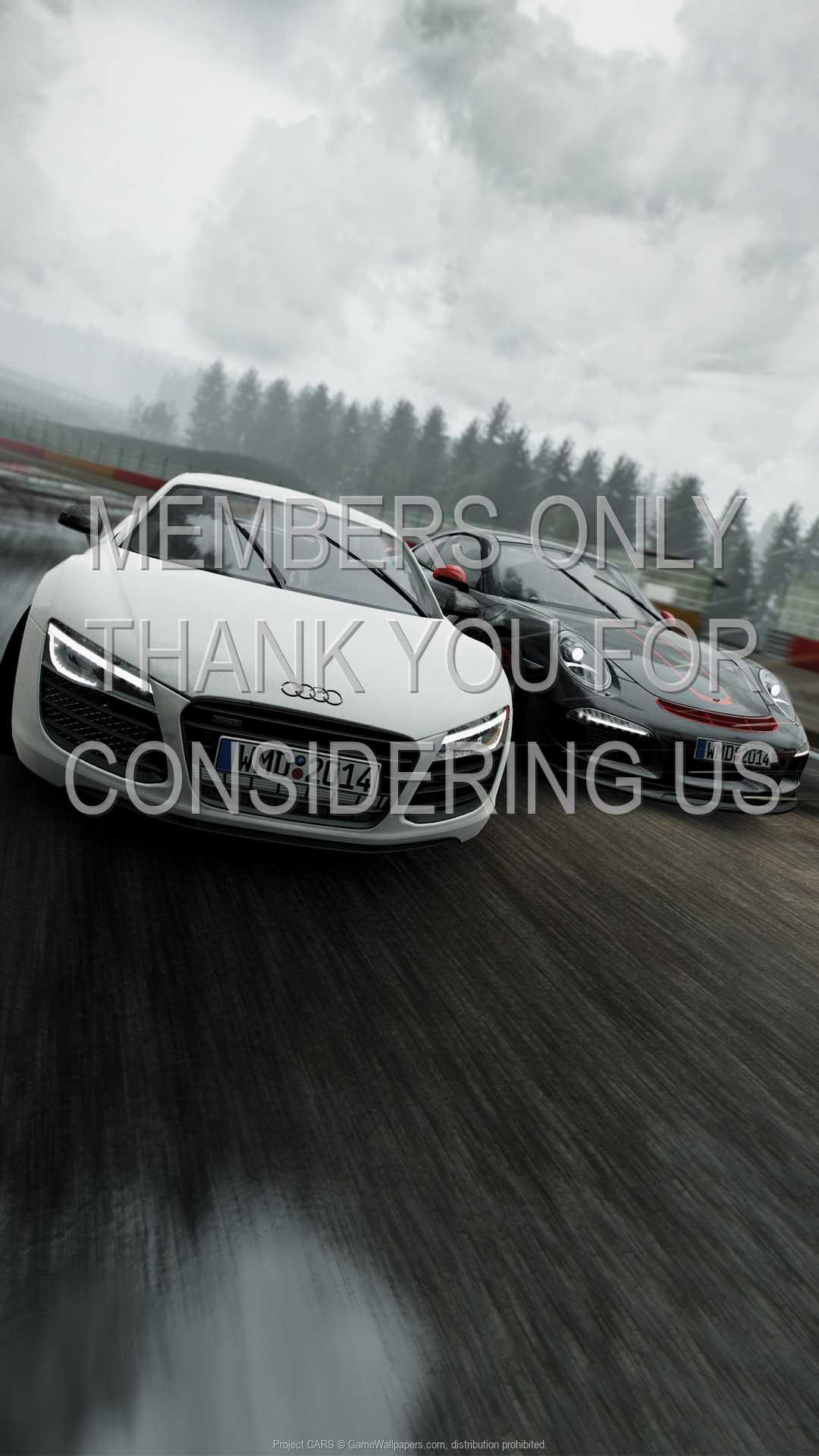 Project CARS 1080p Vertical Handy Hintergrundbild 01