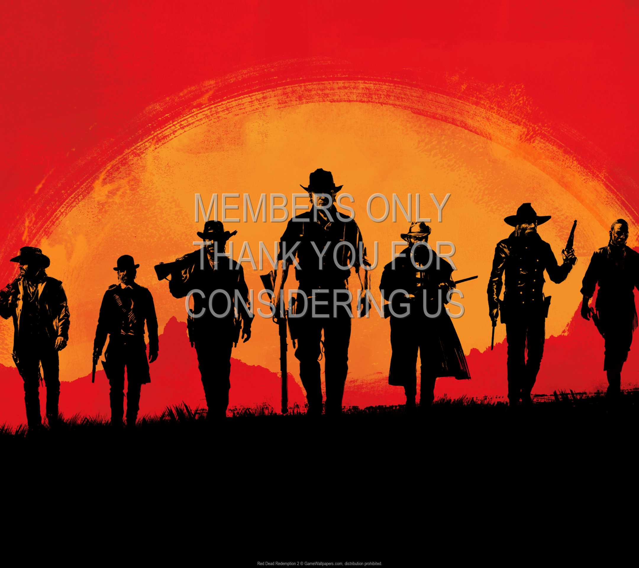 Red Dead Redemption 2 1080p Horizontal Mobile wallpaper or background 01