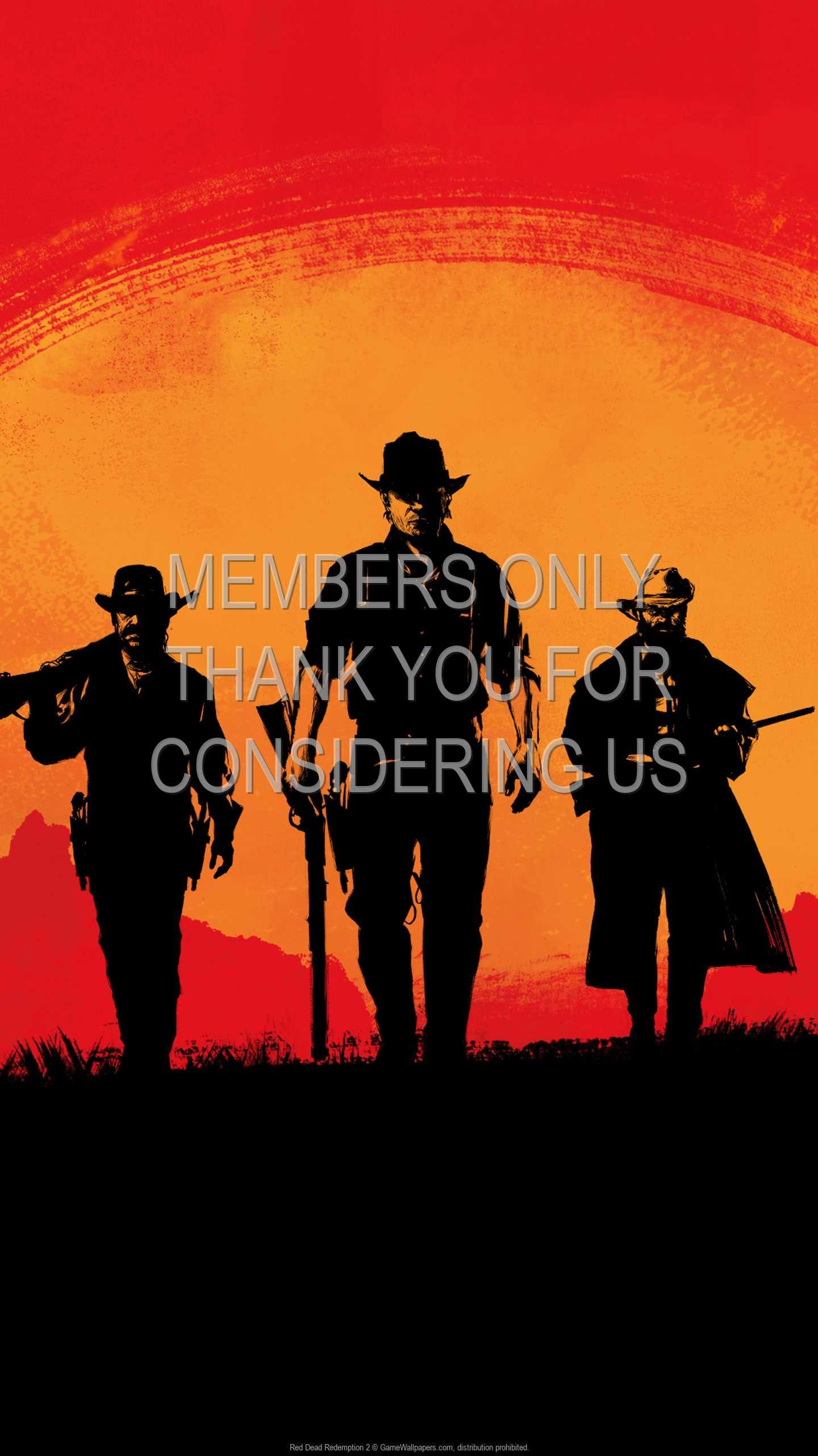 Red Dead Redemption 2 1440p Vertical Mobile wallpaper or background 01
