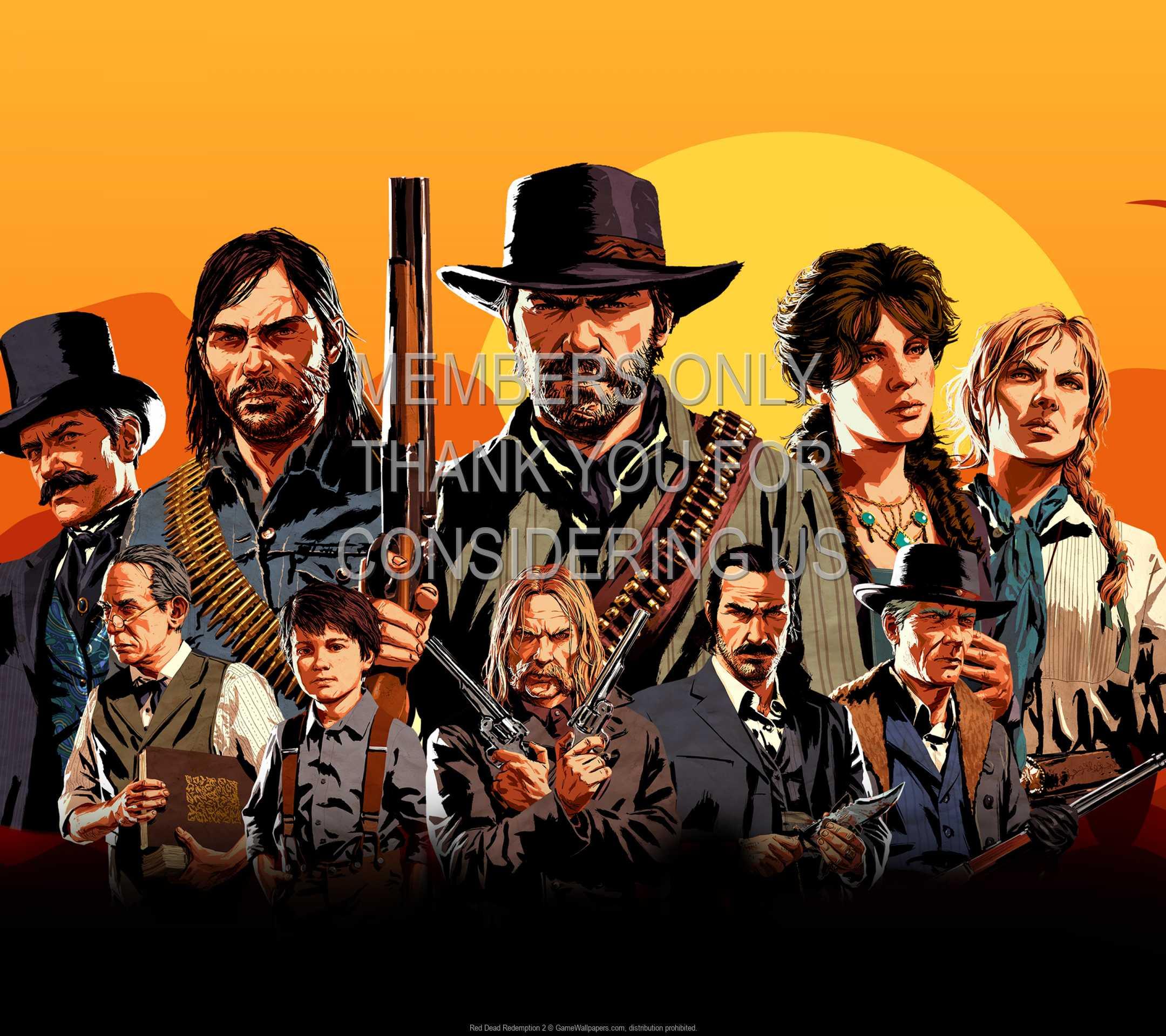 Red Dead Redemption 2 1080p Horizontal Handy Hintergrundbild 03