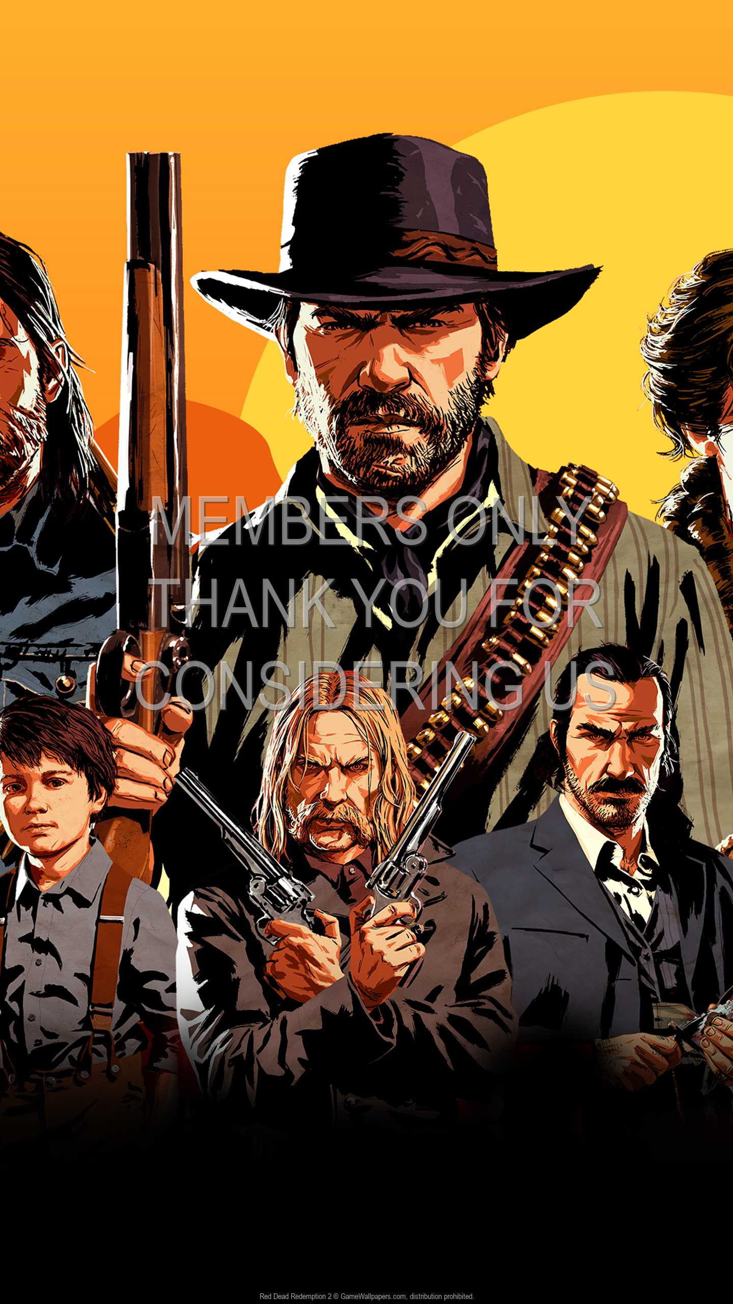 Red Dead Redemption 2 1440p Vertical Mobiele achtergrond 03