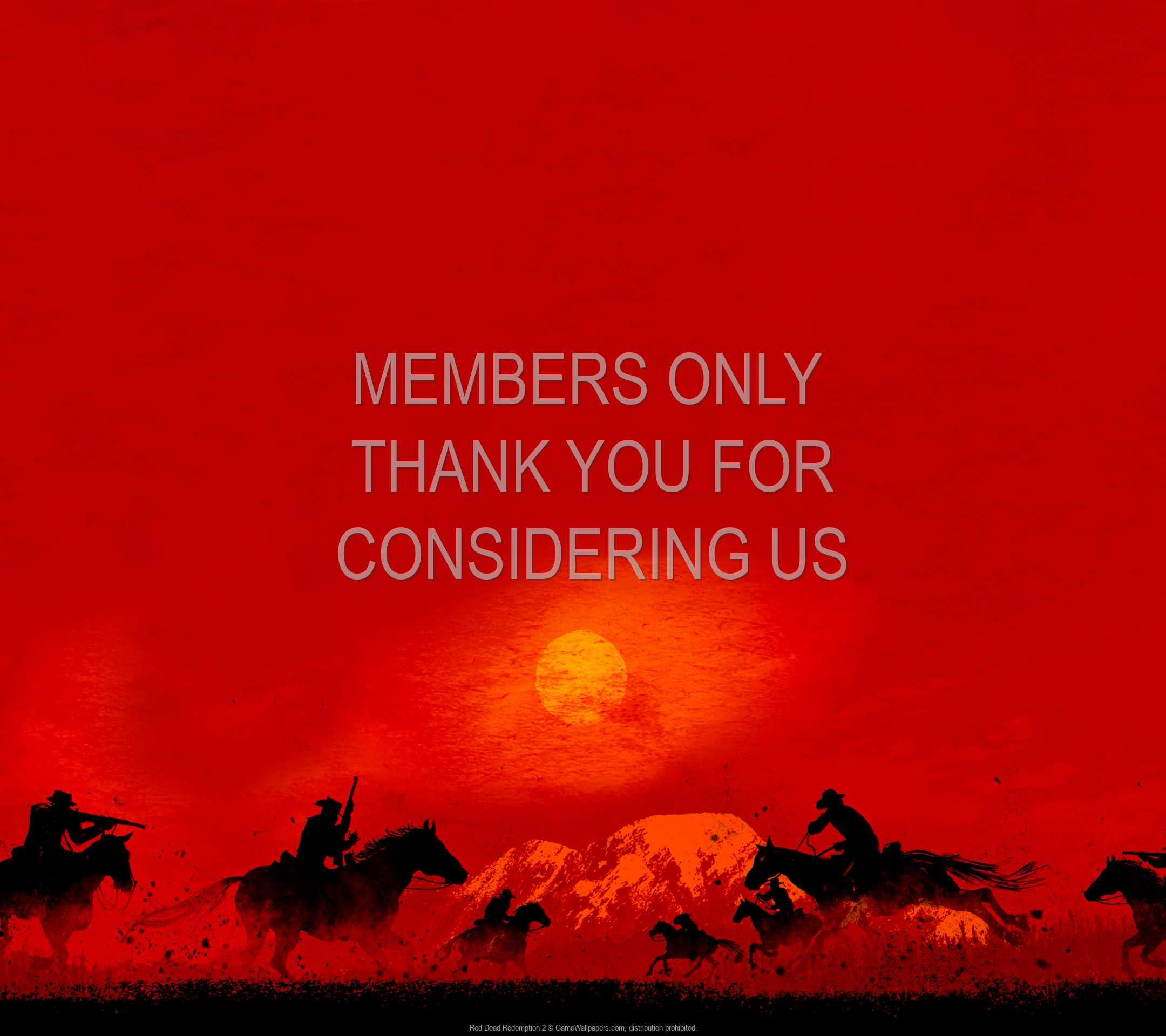 Red Dead Redemption 2 1080p Horizontal Mobile fond d'écran 05