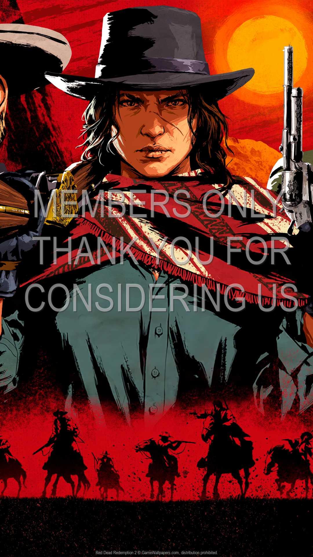 Red Dead Redemption 2 1080p Vertical Mobiele achtergrond 06