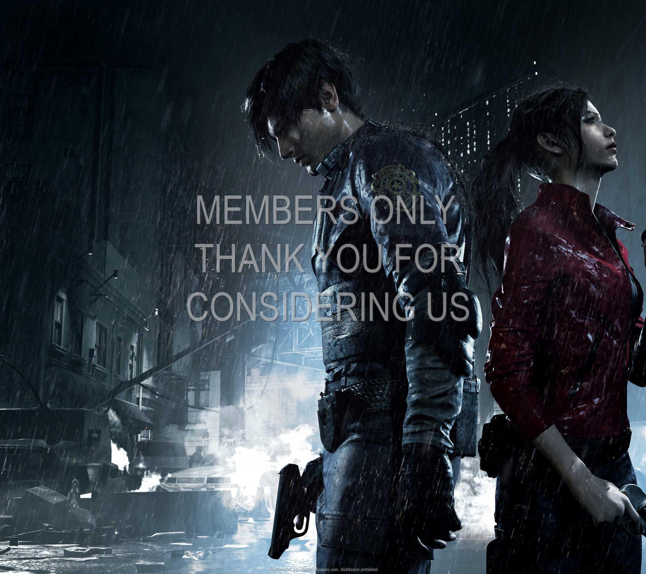 Resident Evil 2 1080p Horizontal Mobiele achtergrond 01