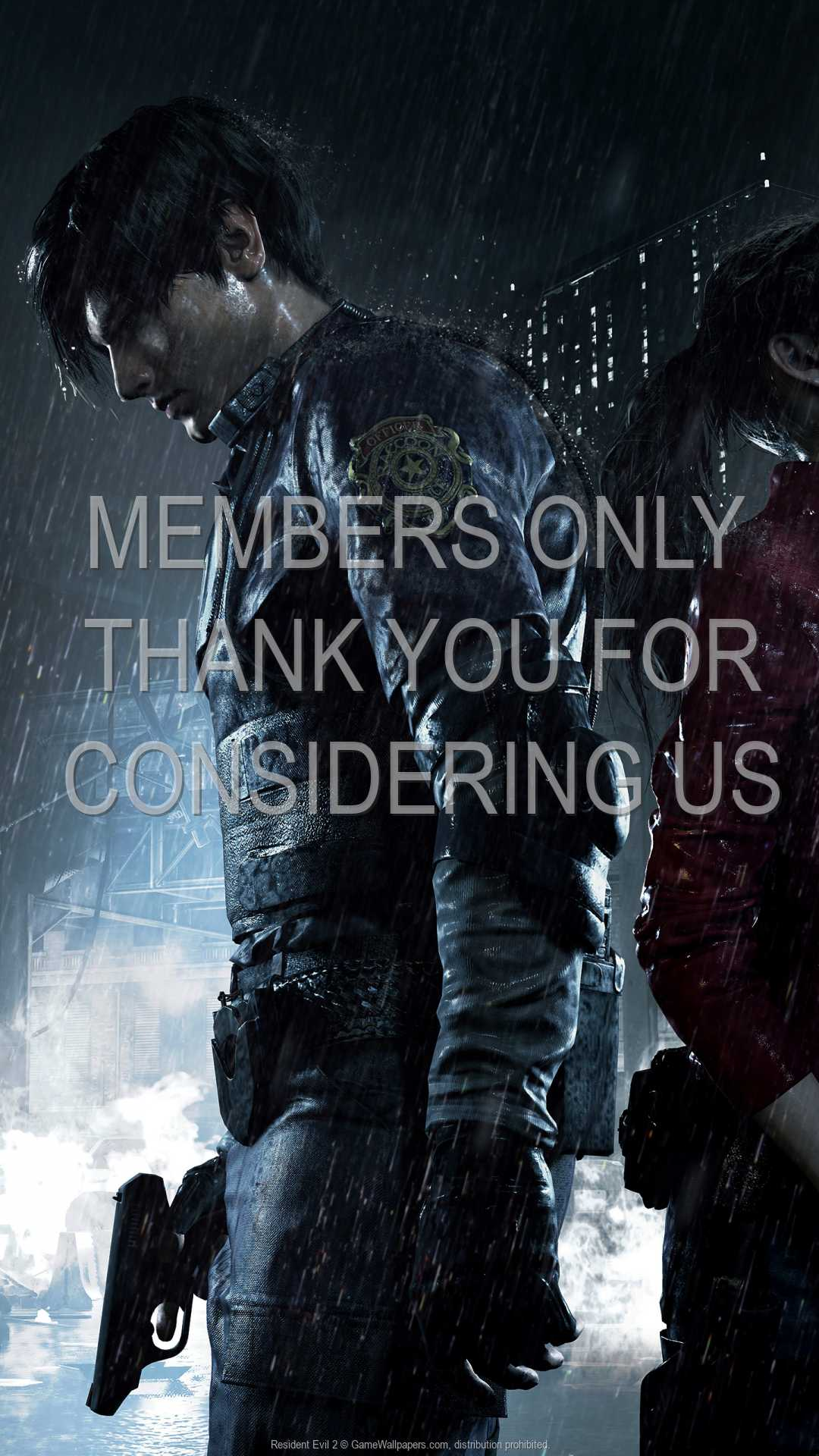 Resident Evil 2 1080p Vertical Mobile wallpaper or background 01