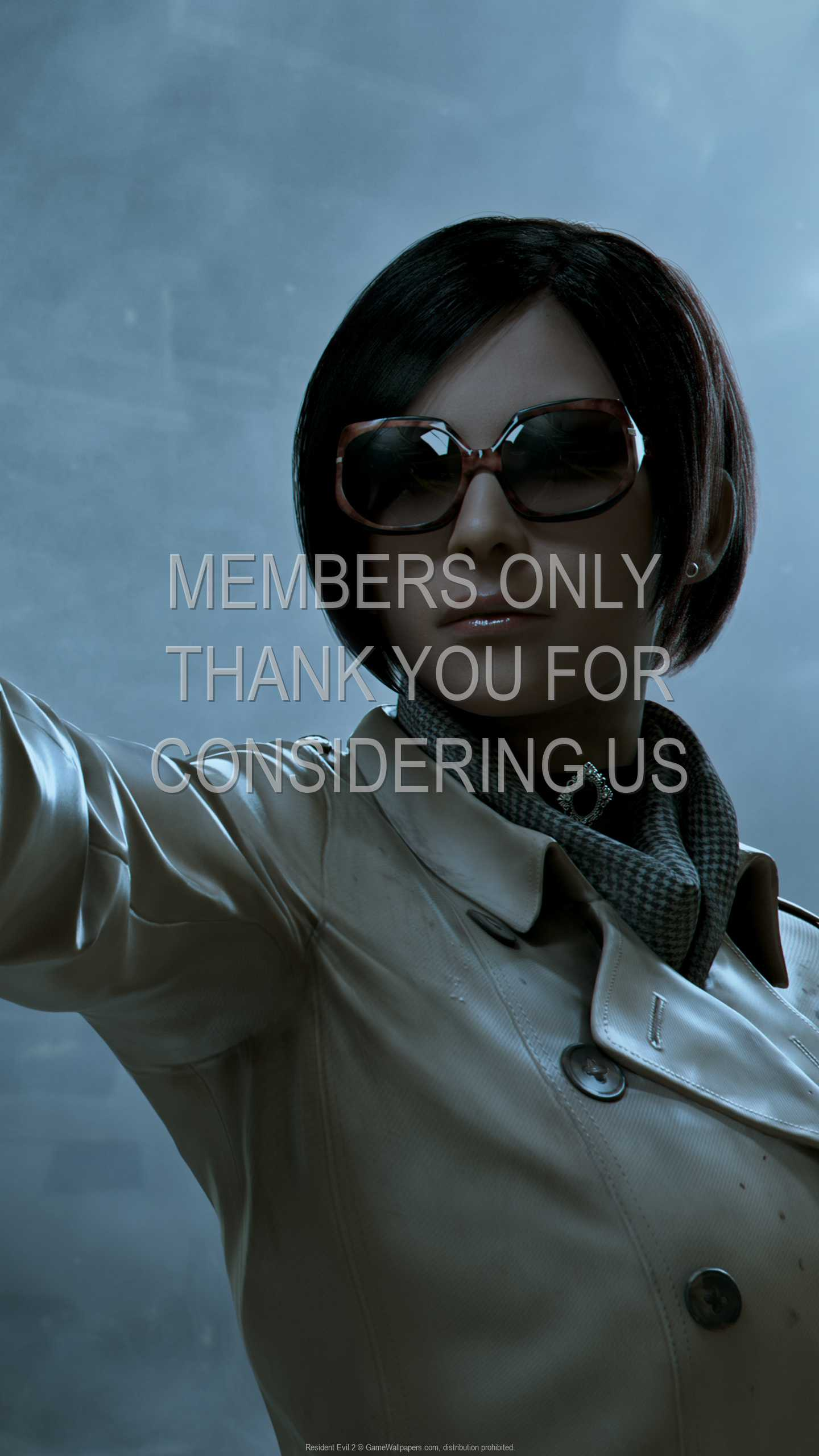 Resident Evil 2 1440p Vertical Mobiele achtergrond 03