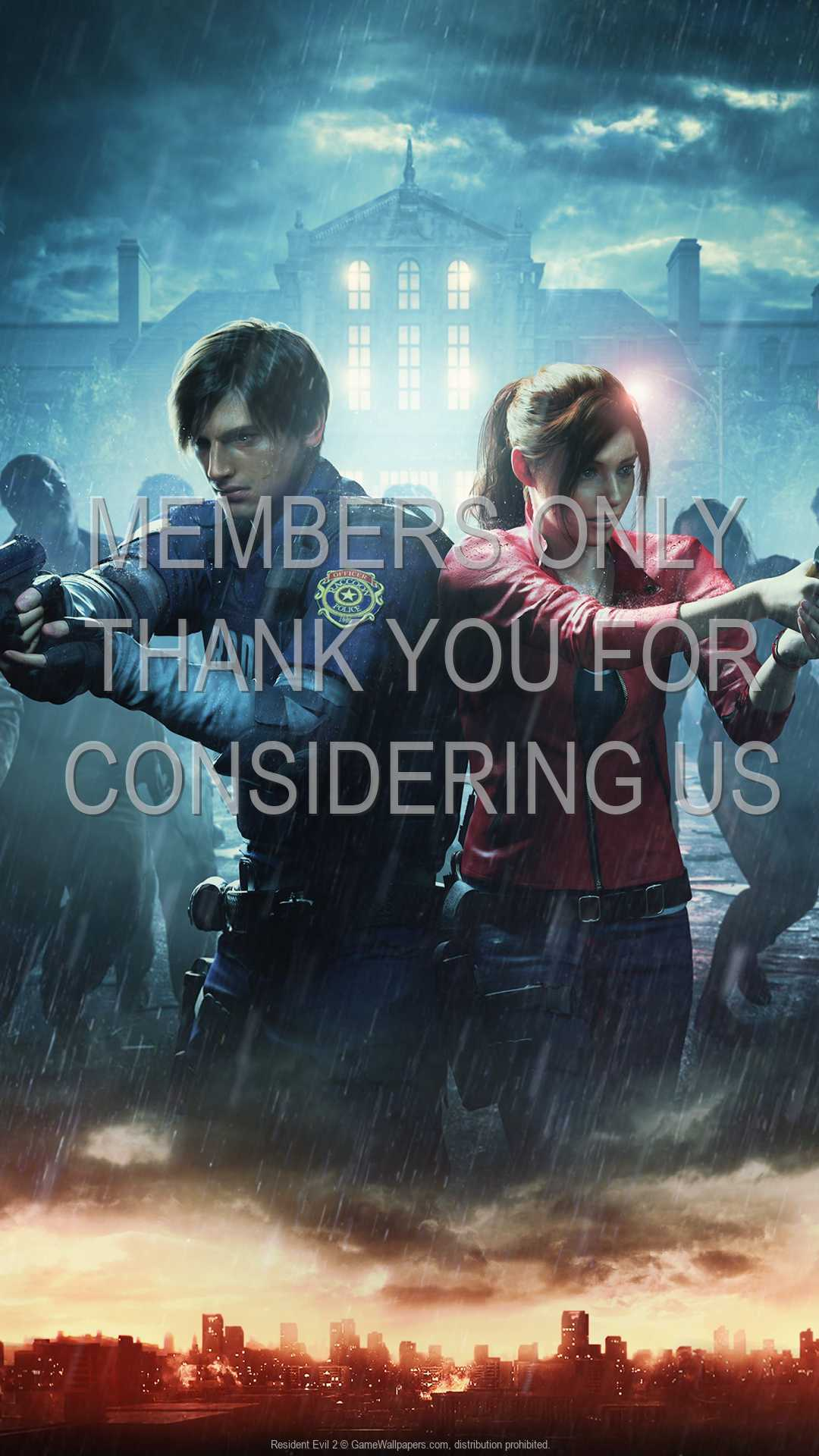 Resident Evil 2 1080p Vertical Mobile wallpaper or background 04
