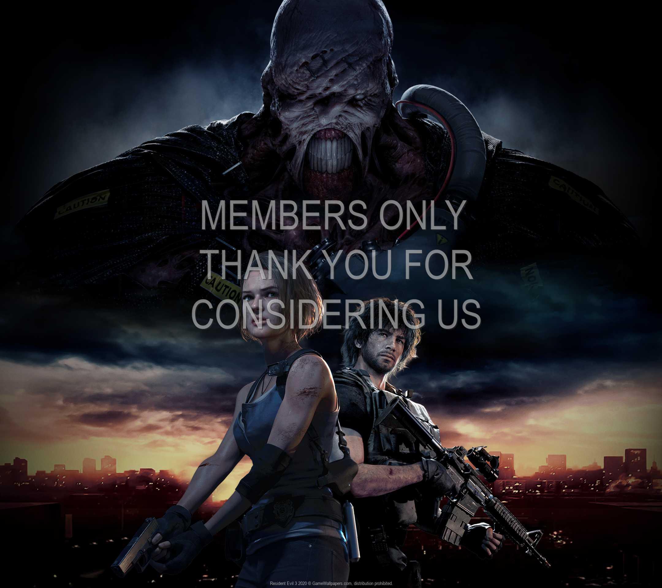 Resident Evil 3 2020 1080p Horizontal Handy Hintergrundbild 01