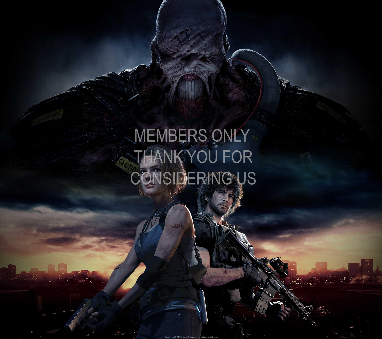 Resident Evil 3 2020 1440p Horizontal Handy Hintergrundbild 01