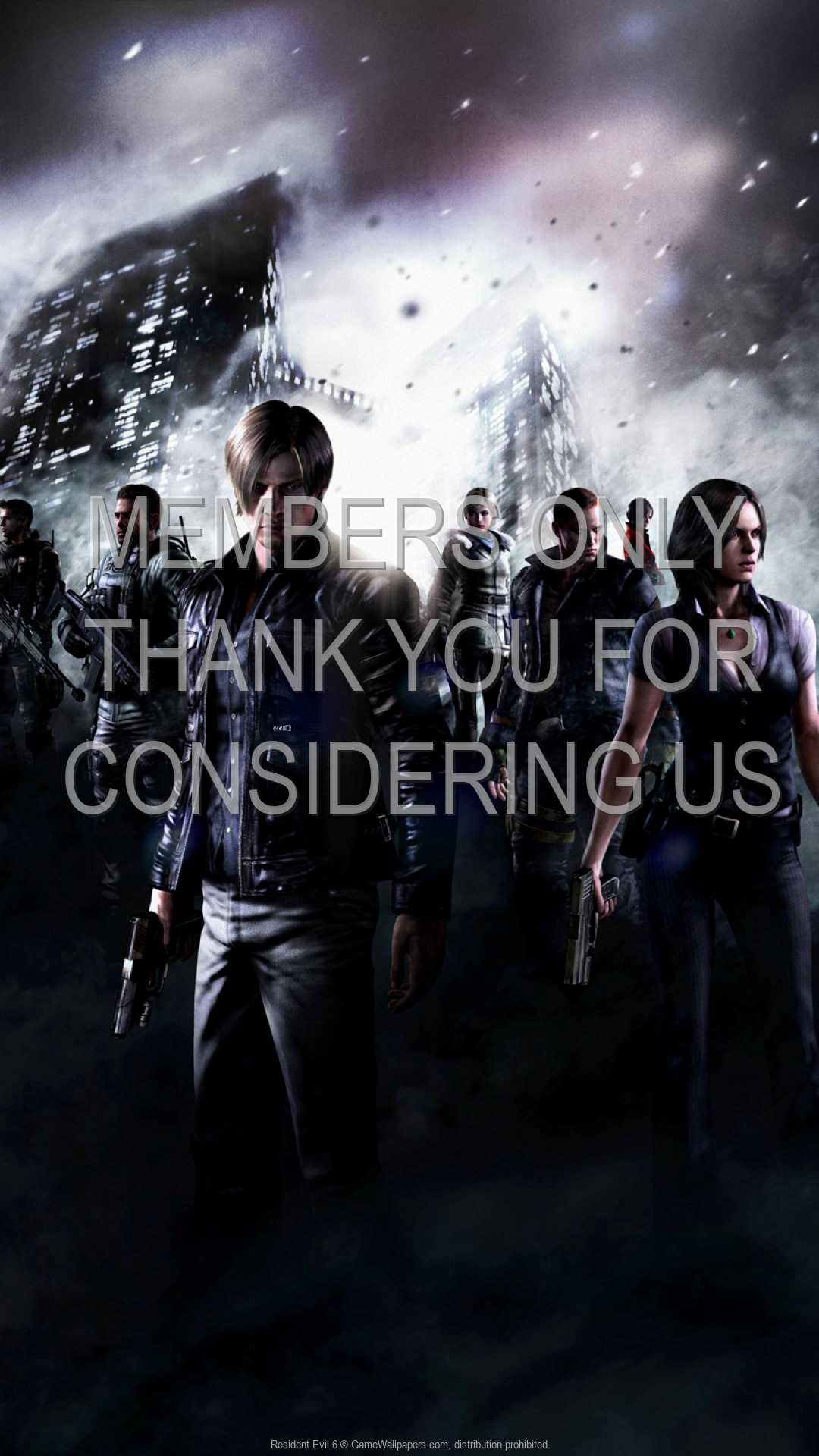 Resident Evil 6 1080p Vertical Handy Hintergrundbild 03