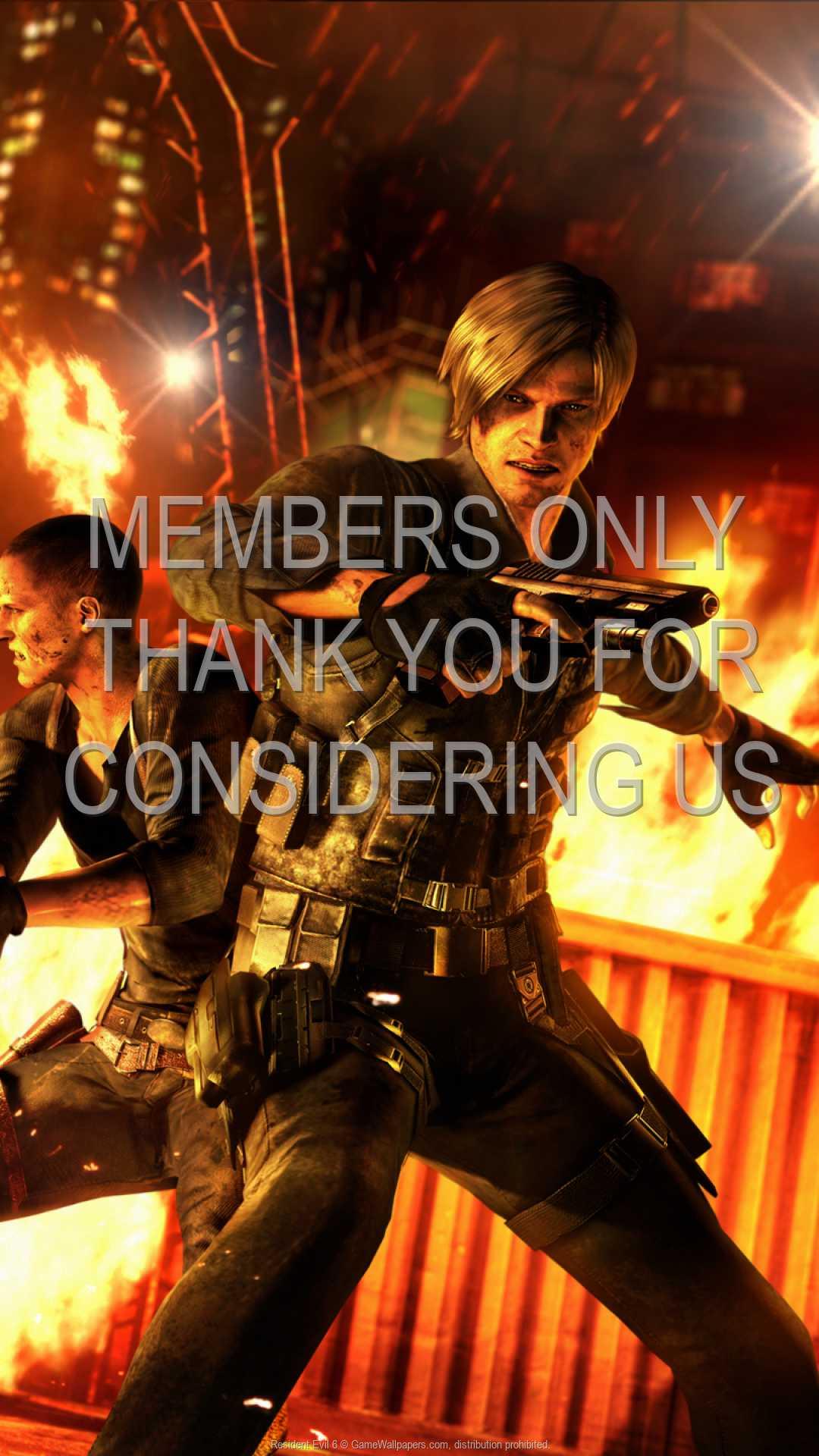 Resident Evil 6 1080p Vertical Handy Hintergrundbild 04