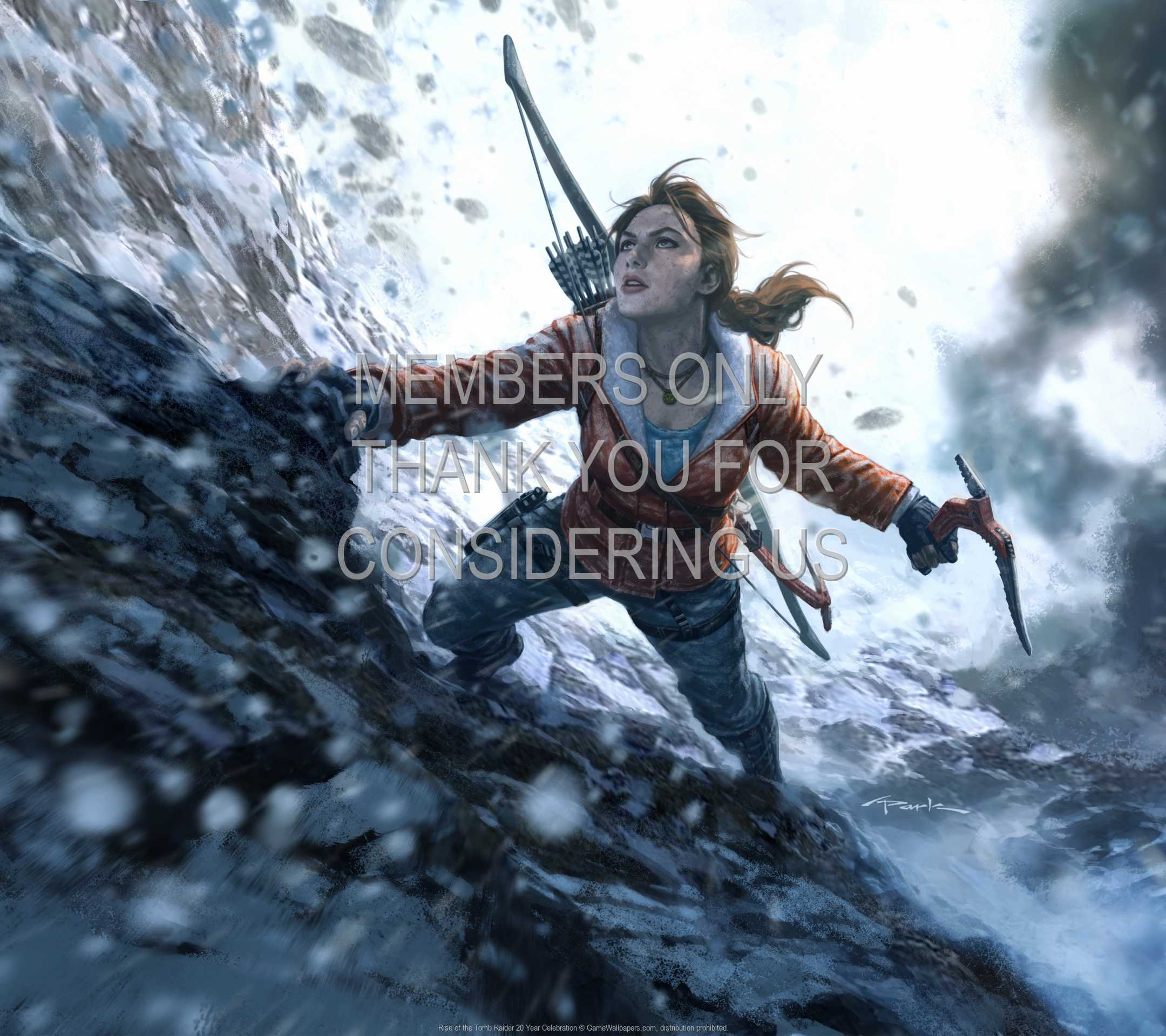 Rise of the Tomb Raider: 20 Year Celebration 1080p Horizontal Mobiele achtergrond 02