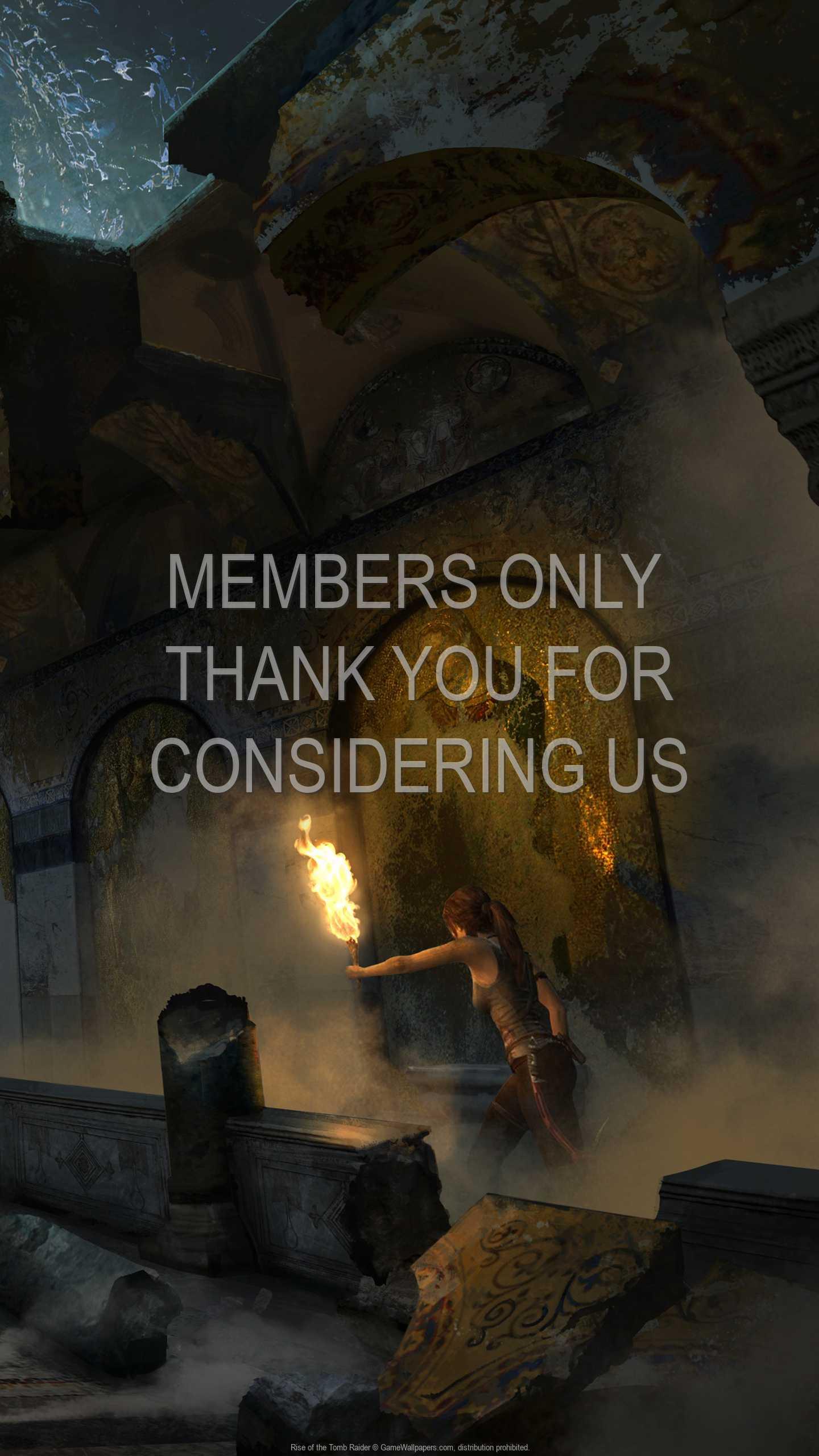 Rise of the Tomb Raider 1440p Vertical Handy Hintergrundbild 22
