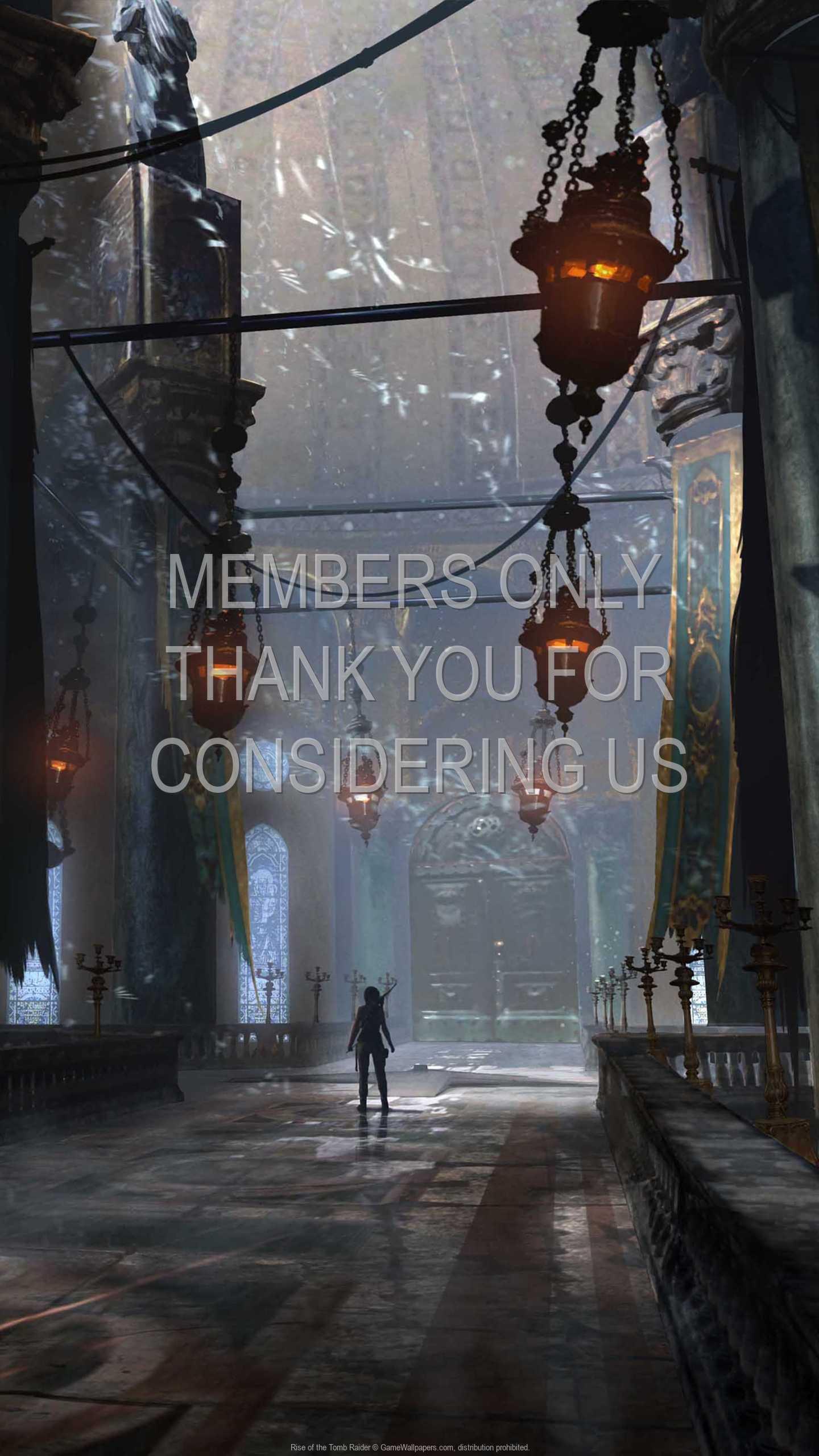 Rise of the Tomb Raider 1440p Vertical Handy Hintergrundbild 23