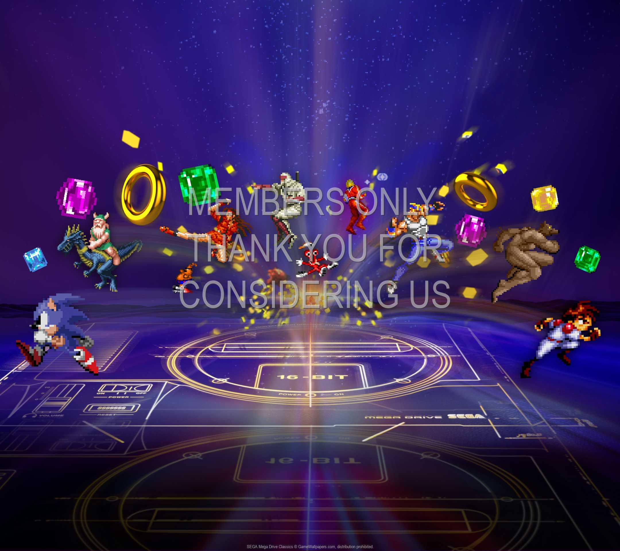 SEGA Mega Drive Classics 1080p Horizontal Mobiele achtergrond 01
