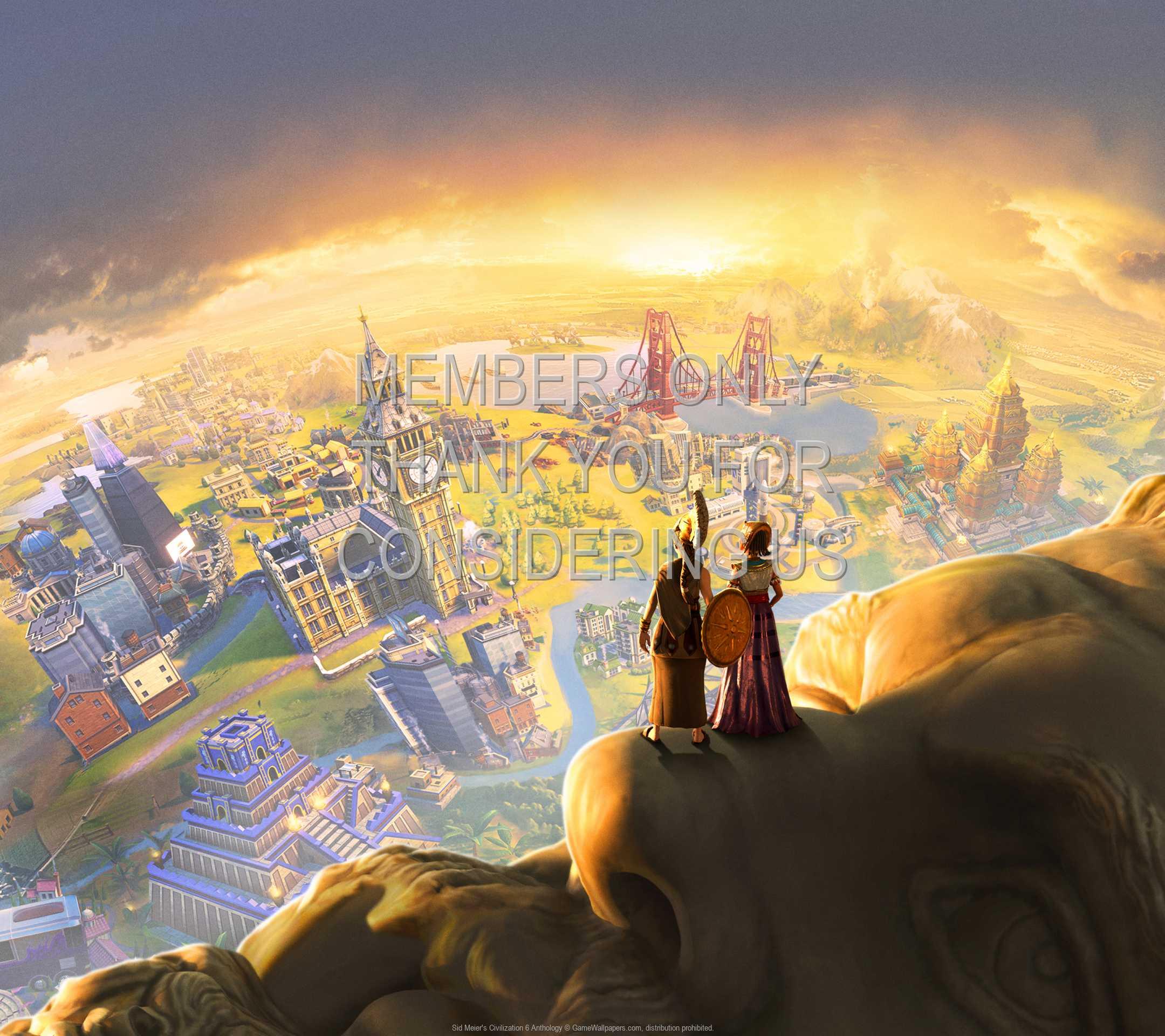 Sid Meier's Civilization 6: Anthology 1080p Horizontal Mobile wallpaper or background 01